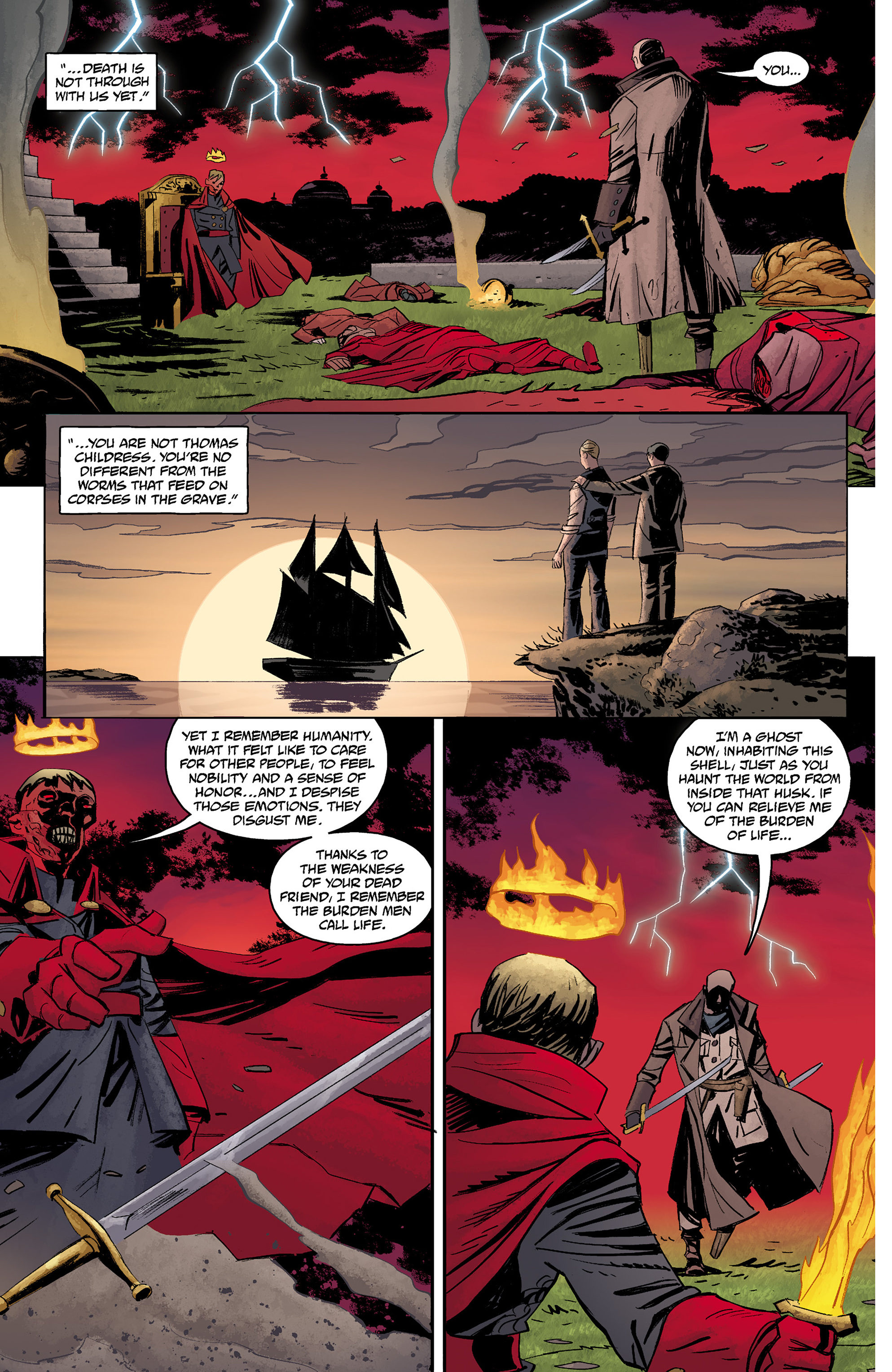 Read online Baltimore: The Red Kingdom comic -  Issue #5 - 19
