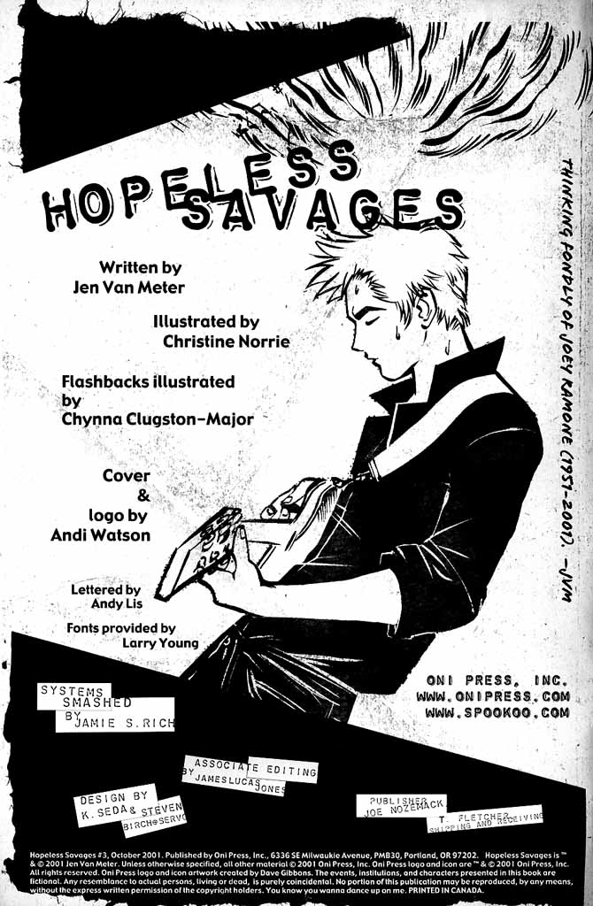Read online Hopeless Savages comic -  Issue #3 - 2