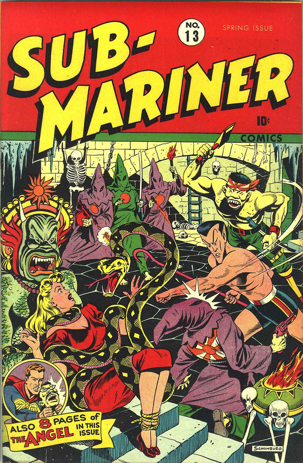 Sub-Mariner Comics 13 Page 1