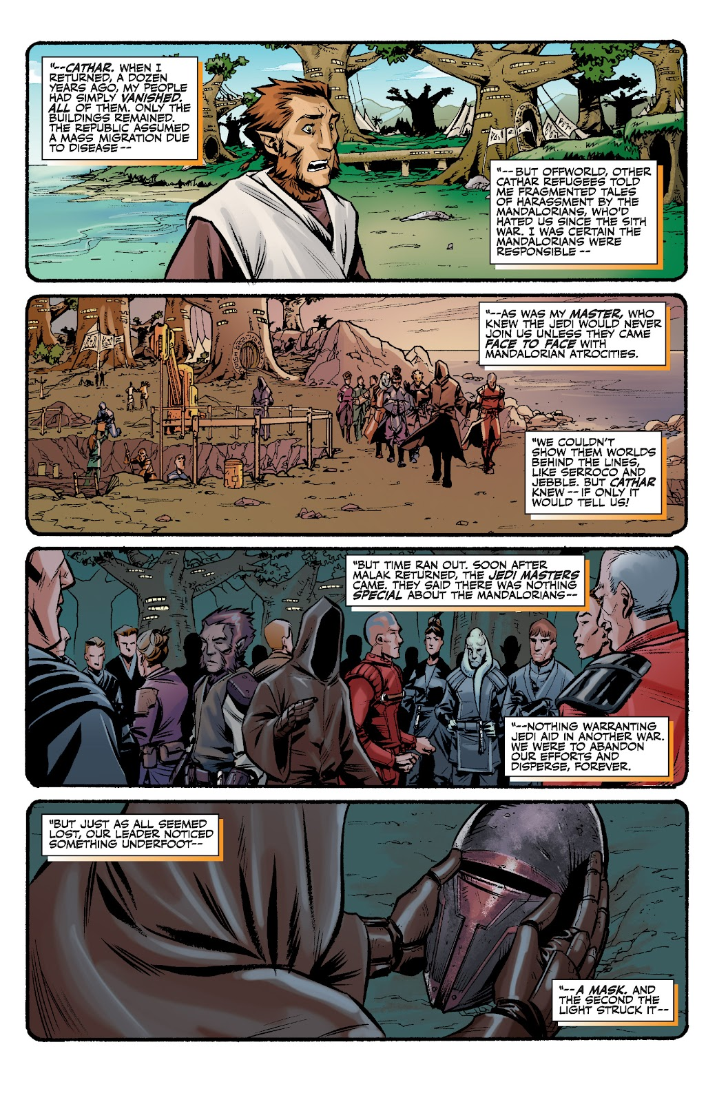 Read online Star Wars Legends: The Old Republic - Epic Collection comic -  Issue # TPB 3 (Part 2) - 7