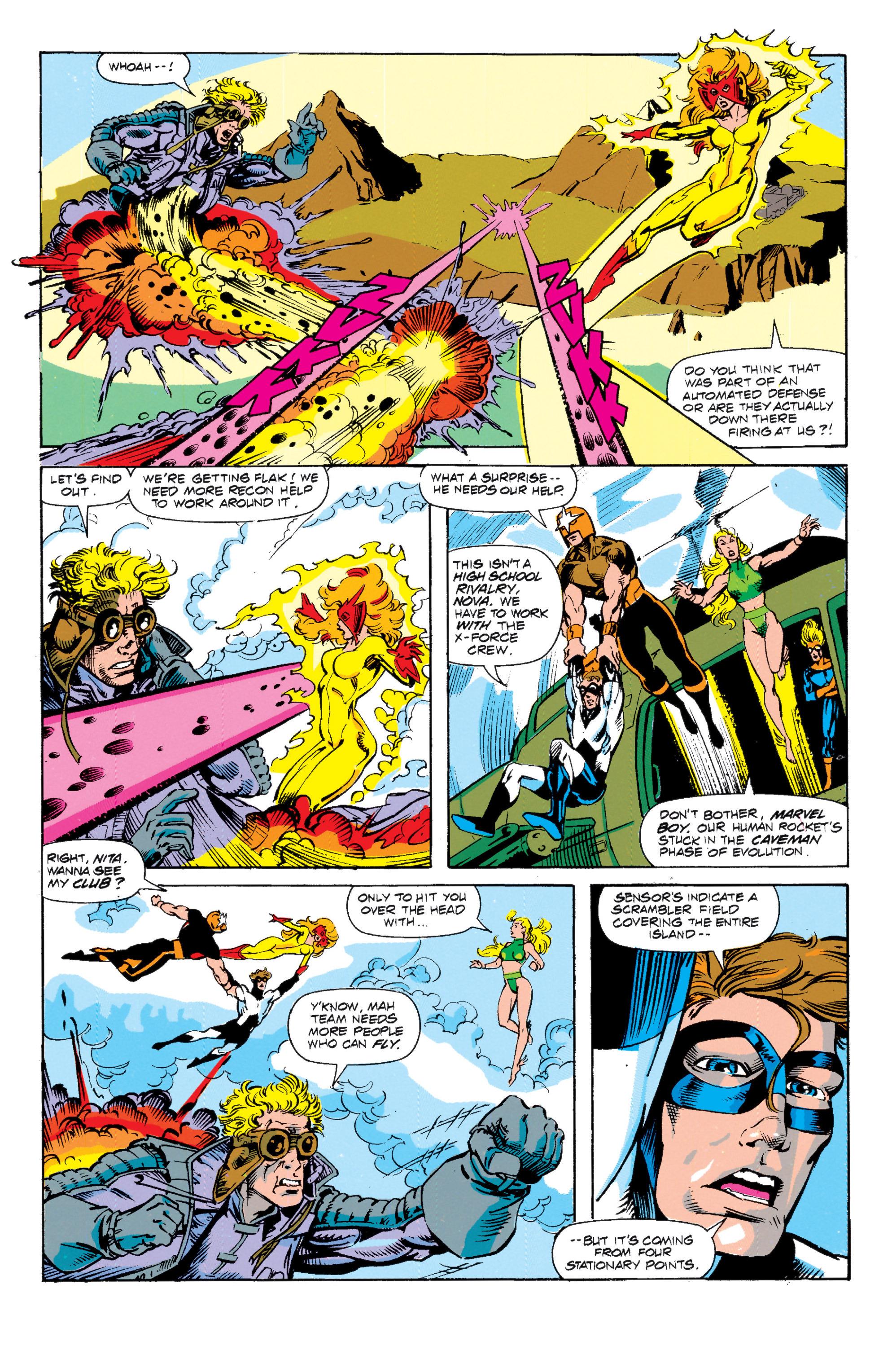Read online Uncanny X-Men (1963) comic -  Issue # _Annual 15 - 4