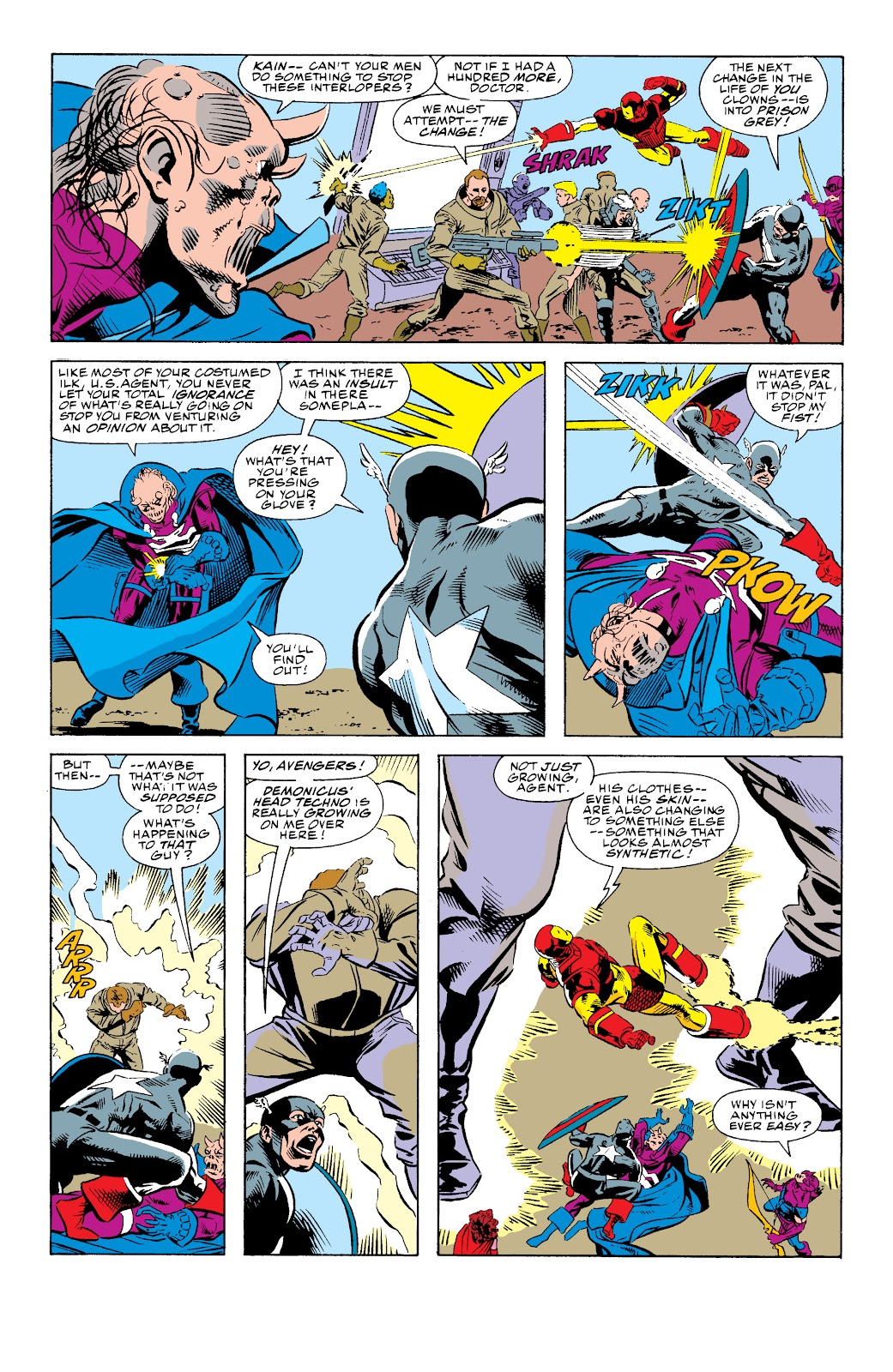 Avengers West Coast (1989) issue 74 - Page 14