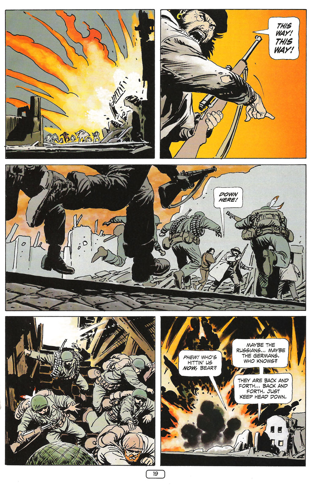Read online Sgt. Rock: The Prophecy comic -  Issue #1 - 21
