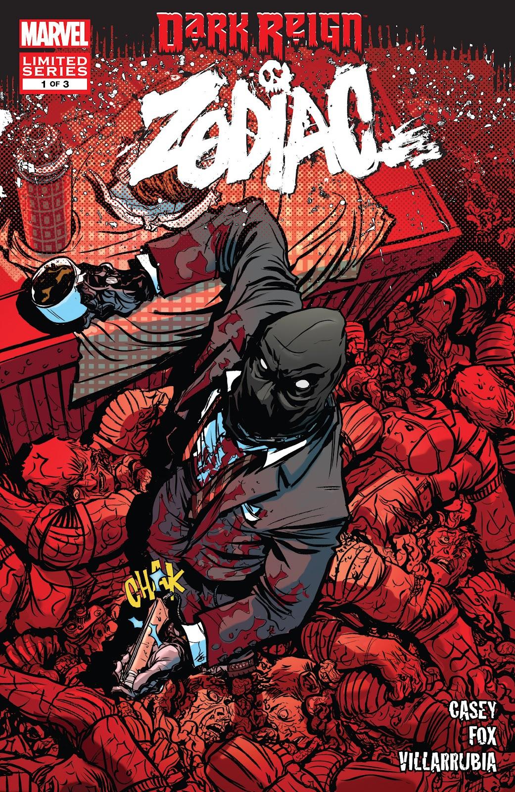 Dark Reign: Zodiac issue 1 - Page 1