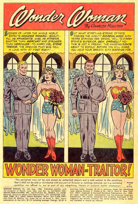 Read online Wonder Woman (1942) comic -  Issue #164 - 3