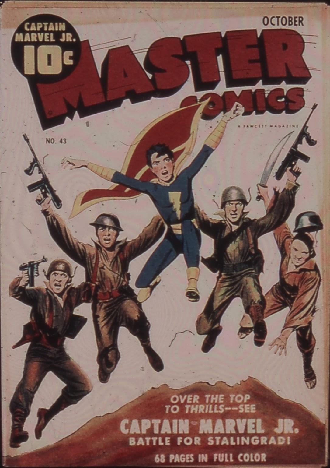 Master Comics 43 Page 1