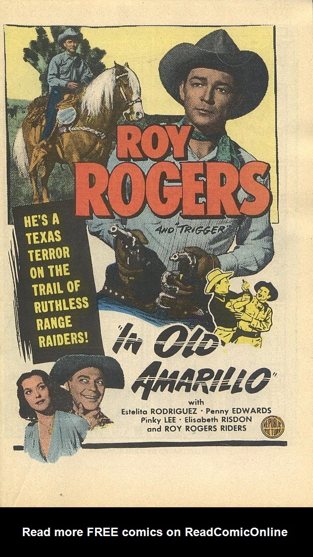 Read online Roy Rogers comic -  Issue #4 - 19