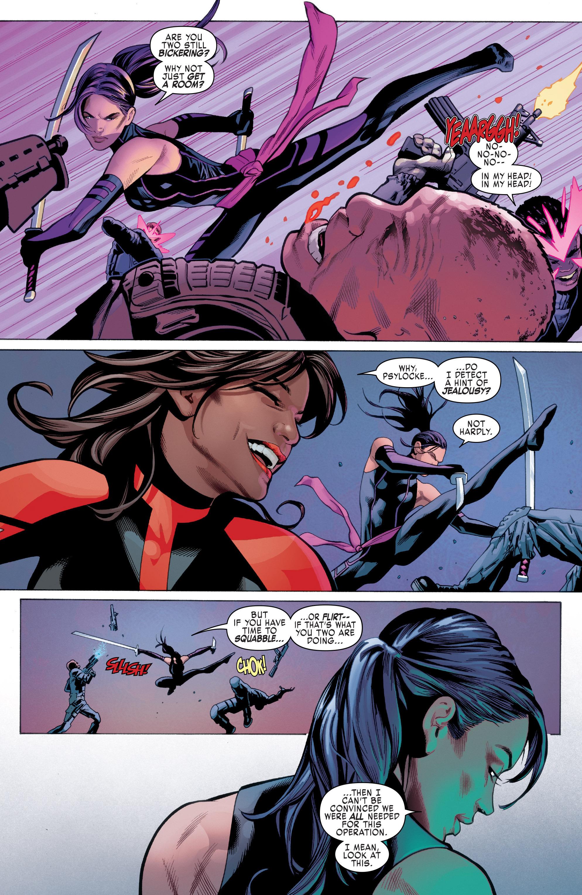 Read online Uncanny X-Men (2016) comic -  Issue #1 - 8
