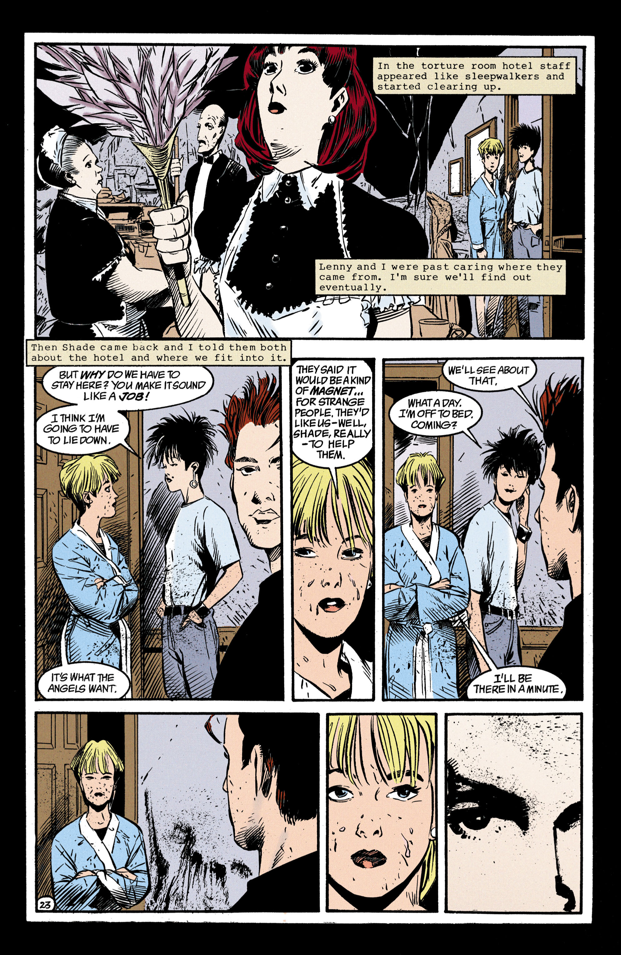 Read online Shade, the Changing Man comic -  Issue #35 - 24