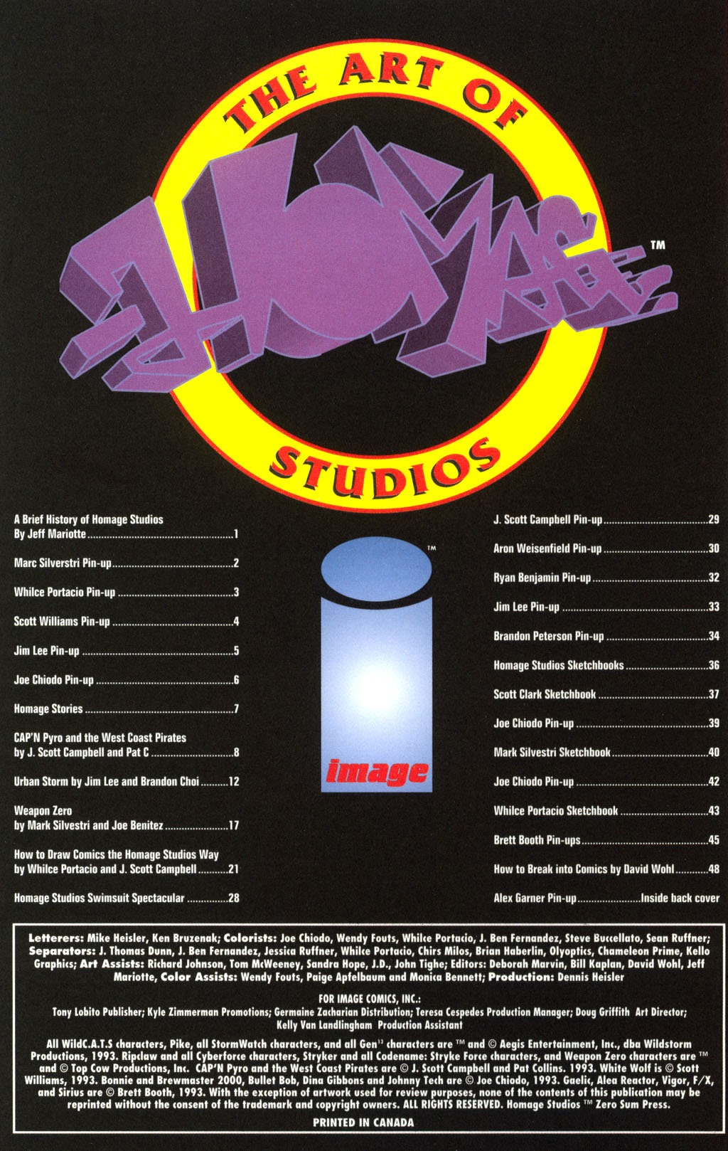 The Art Of Homage Studios Full Page 2