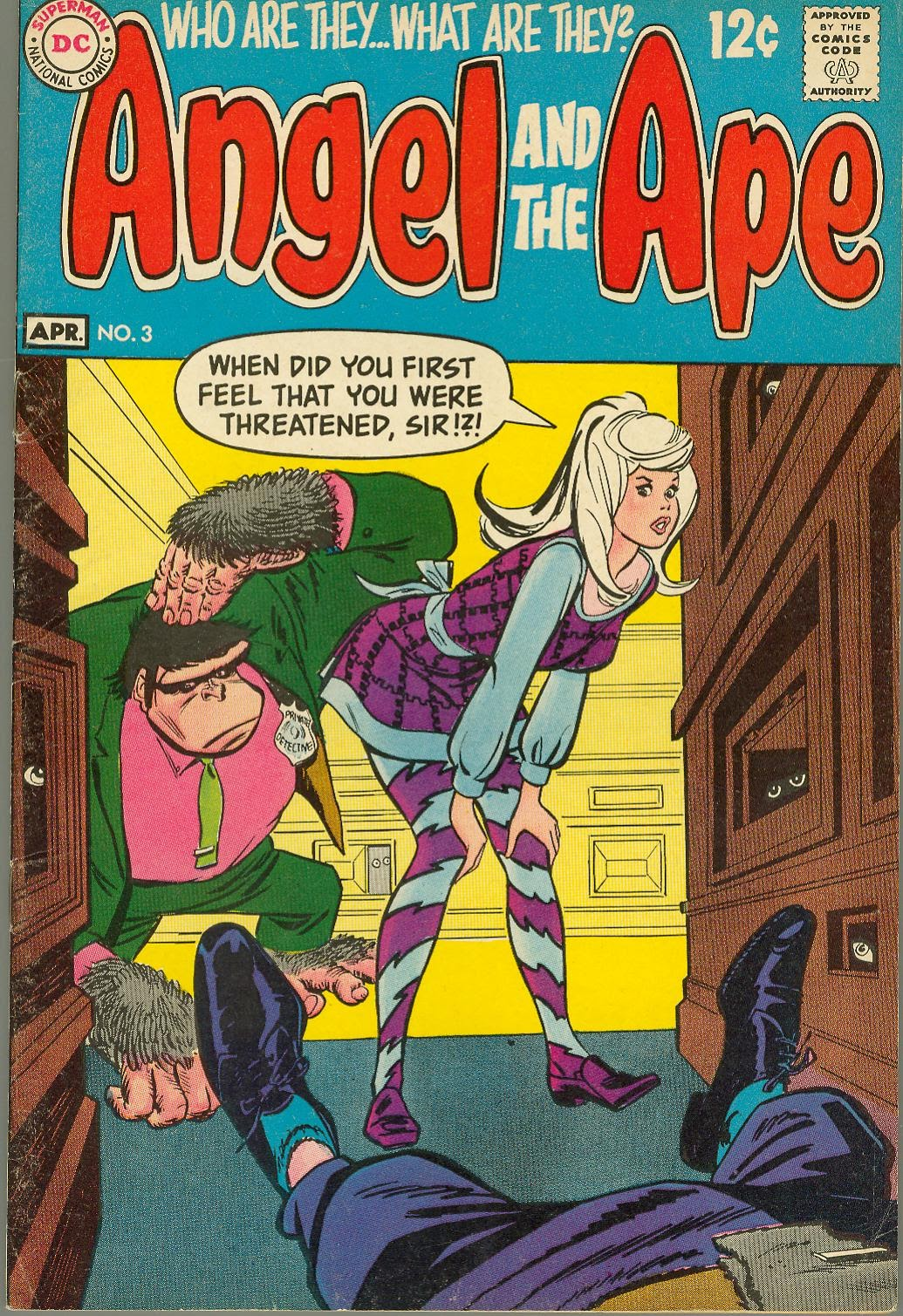 Angel And The Ape (1968) issue 3 - Page 1