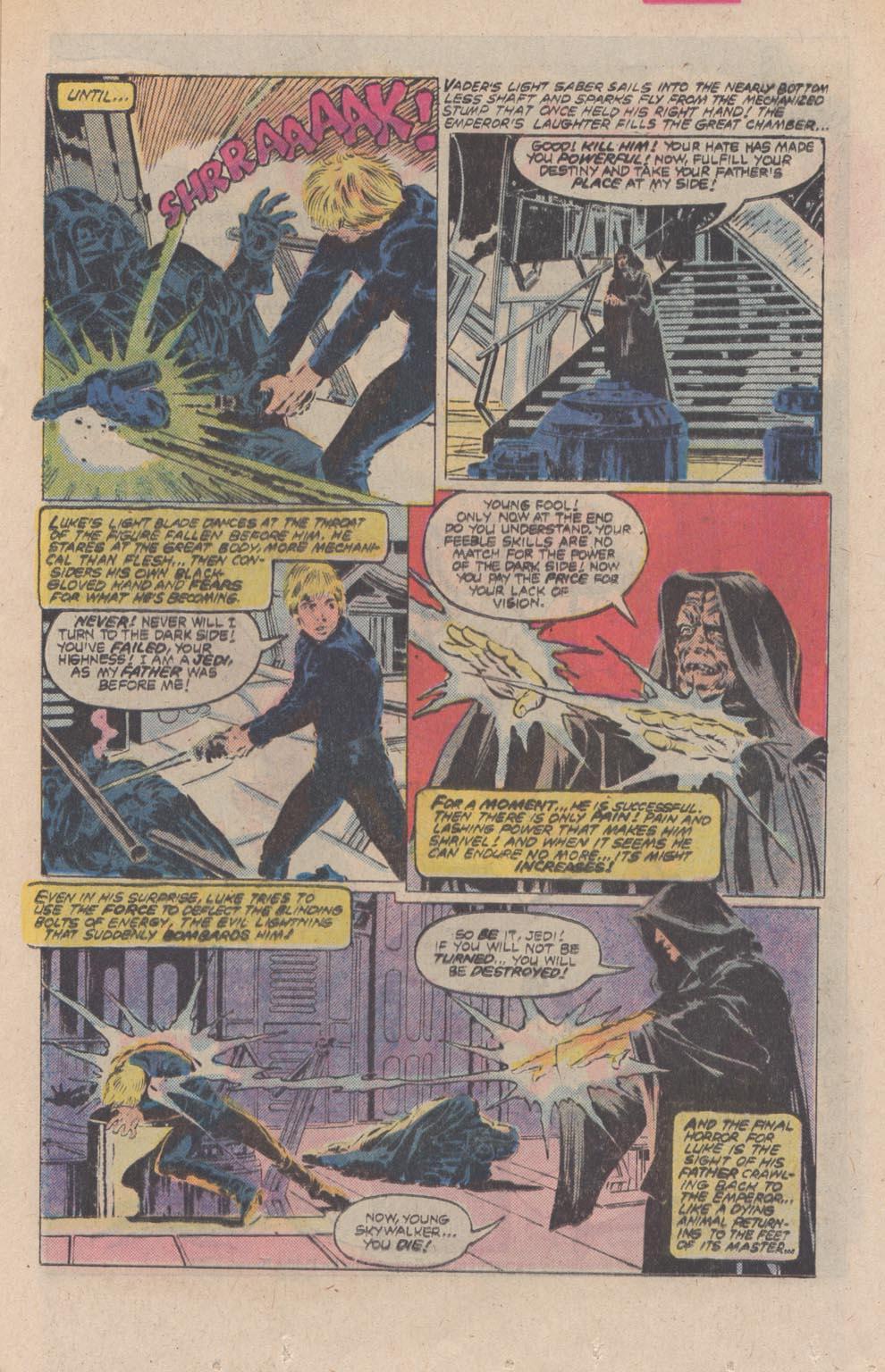 Read online Star Wars: Return of the Jedi comic -  Issue #4 - 15