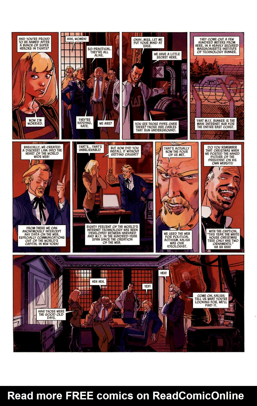 Read online Universal War One: Revelations comic -  Issue #1 - 27