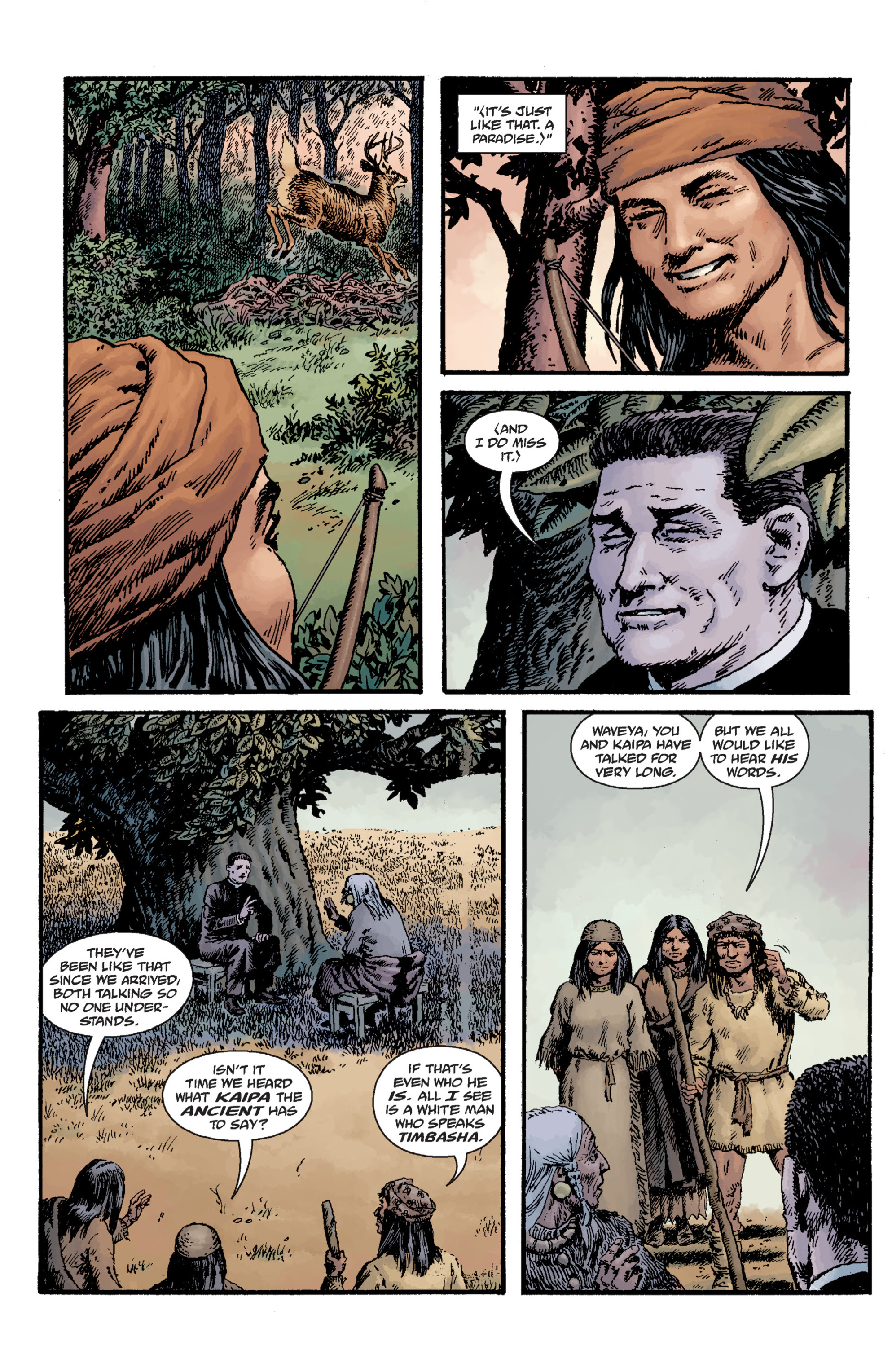 Read online Sir Edward Grey, Witchfinder: Lost and Gone Forever comic -  Issue # TPB - 91