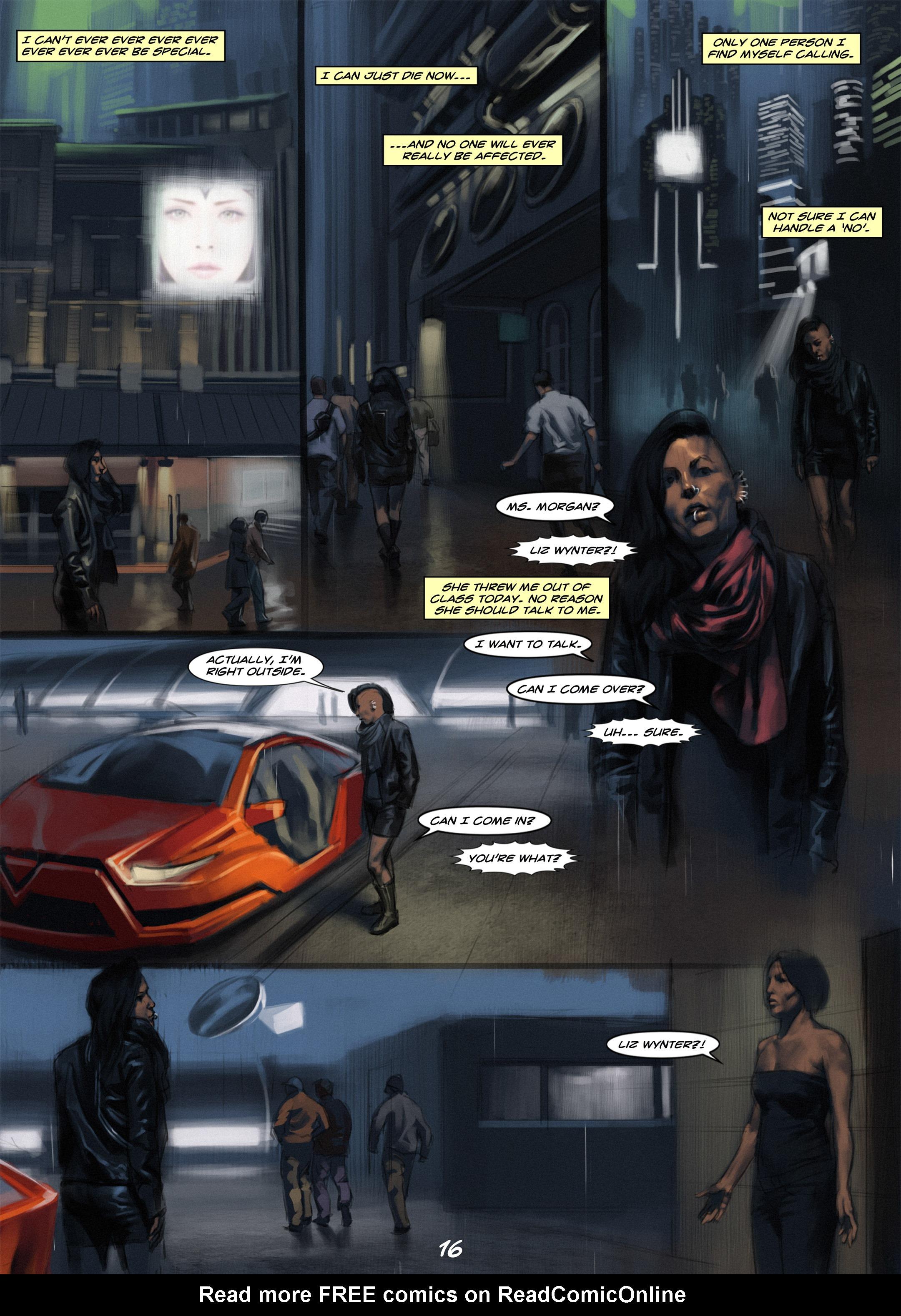 Read online Wynter comic -  Issue #1 - 16