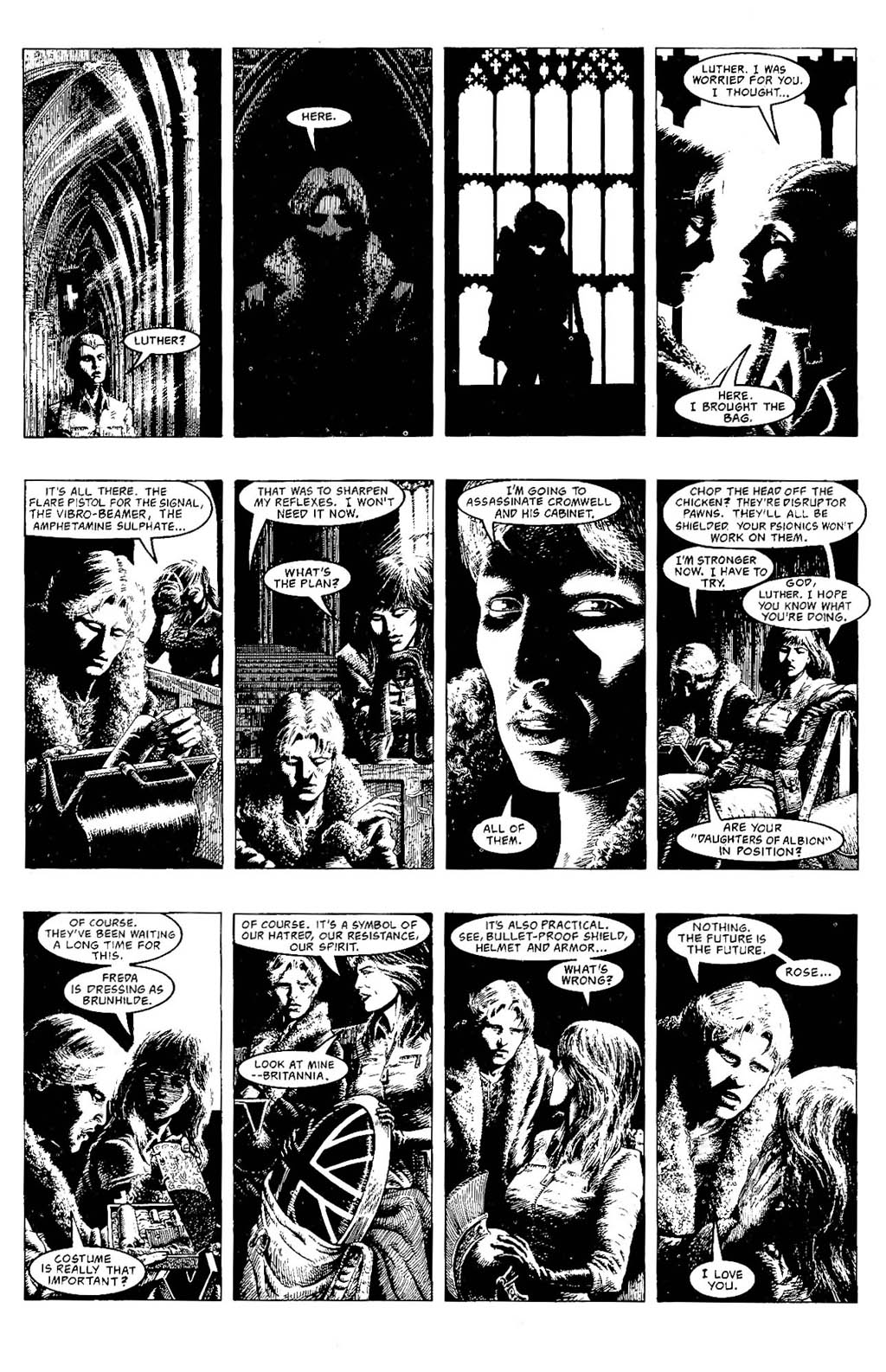 Read online The Adventures of Luther Arkwright comic -  Issue #7 - 13