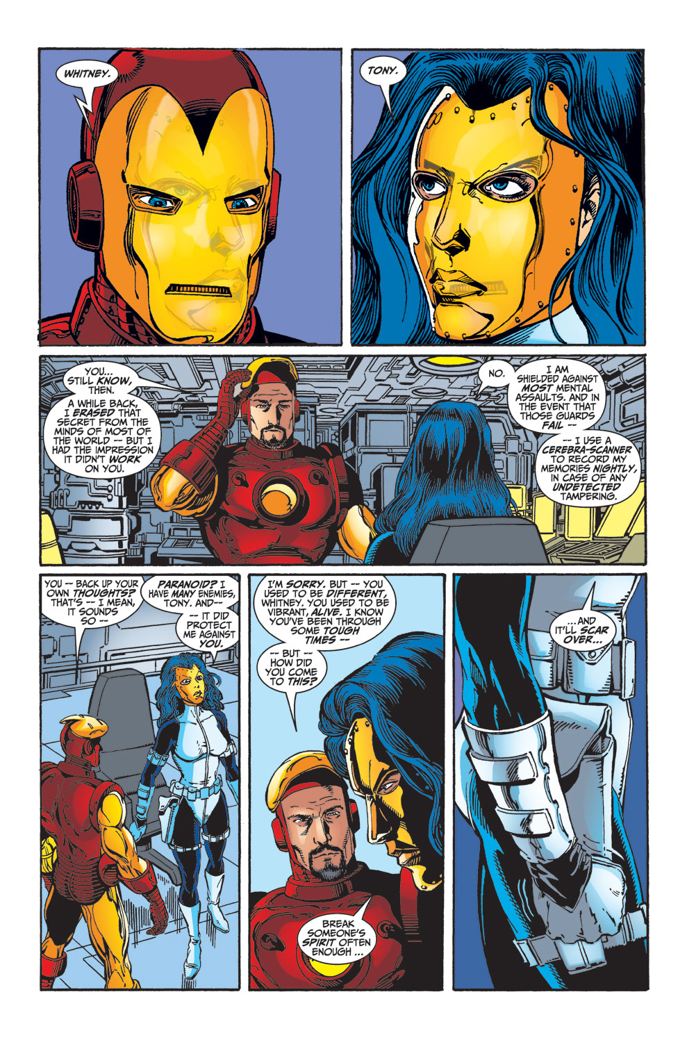 Read online Avengers (1998) comic -  Issue #33 - 18
