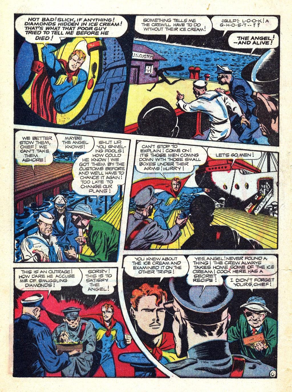 Read online Mystic Comics (1944) comic -  Issue #3 - 8