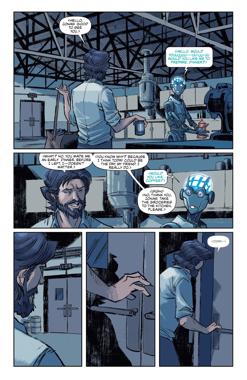 Read online Self/Made comic -  Issue #5 - 8