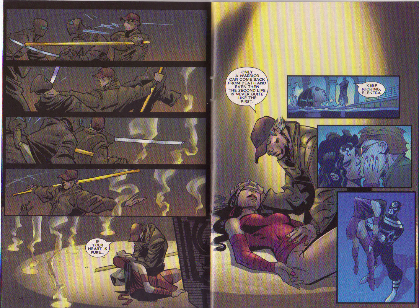 Read online Elektra: On the Rise comic -  Issue # Full - 4