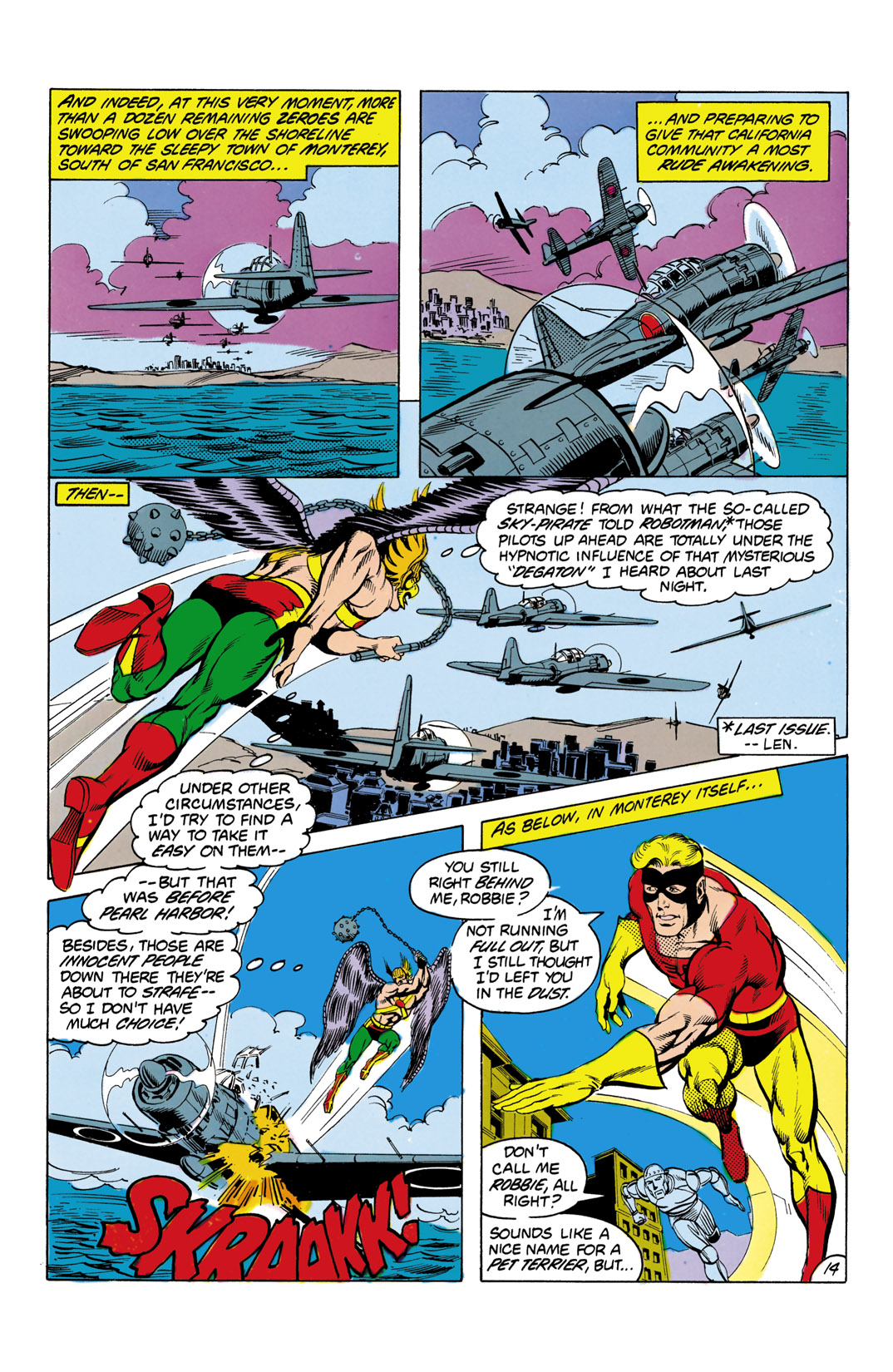 Read online All-Star Squadron comic -  Issue #3 - 15