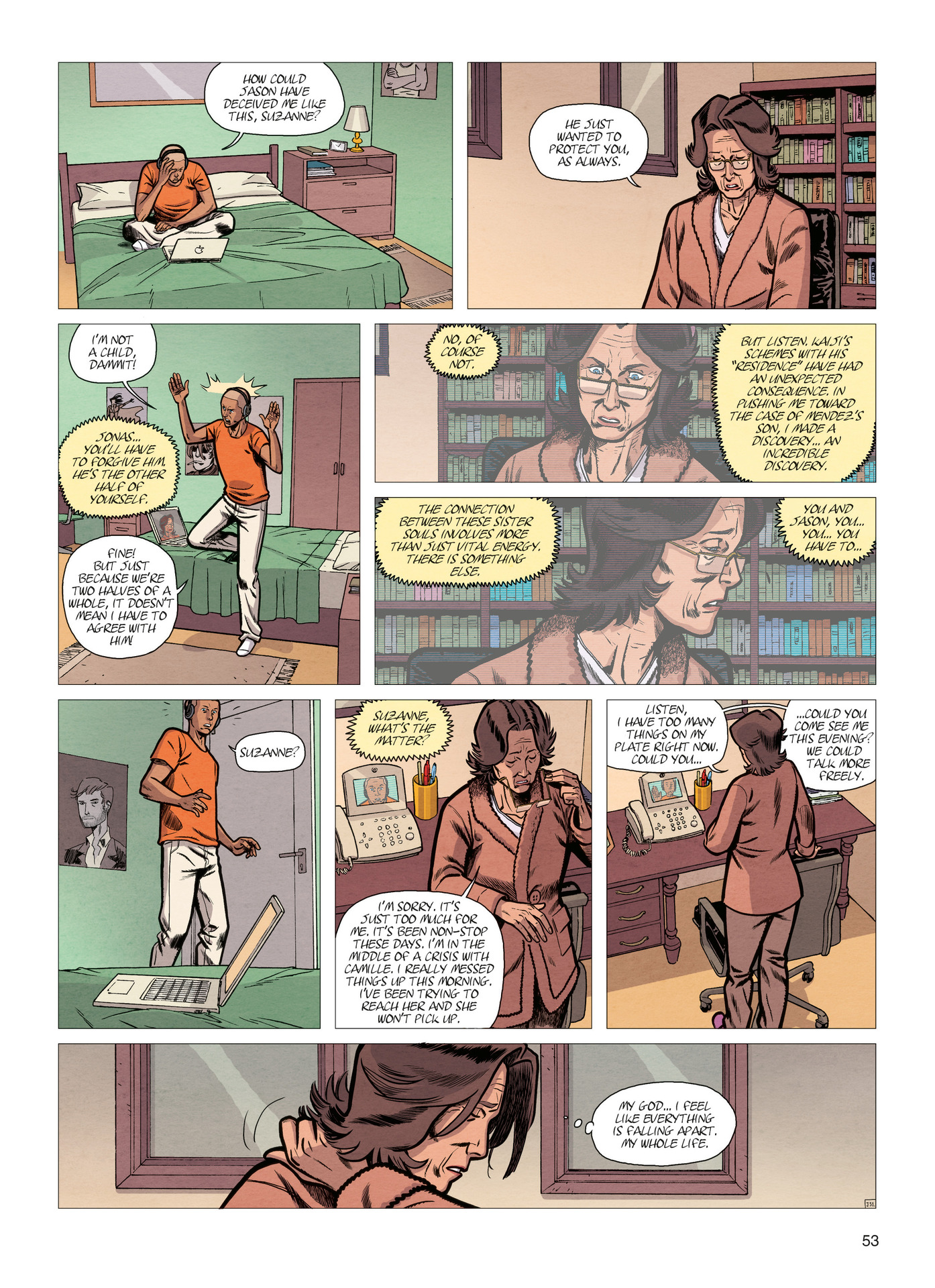 Read online Alter Ego comic -  Issue #4 - 55