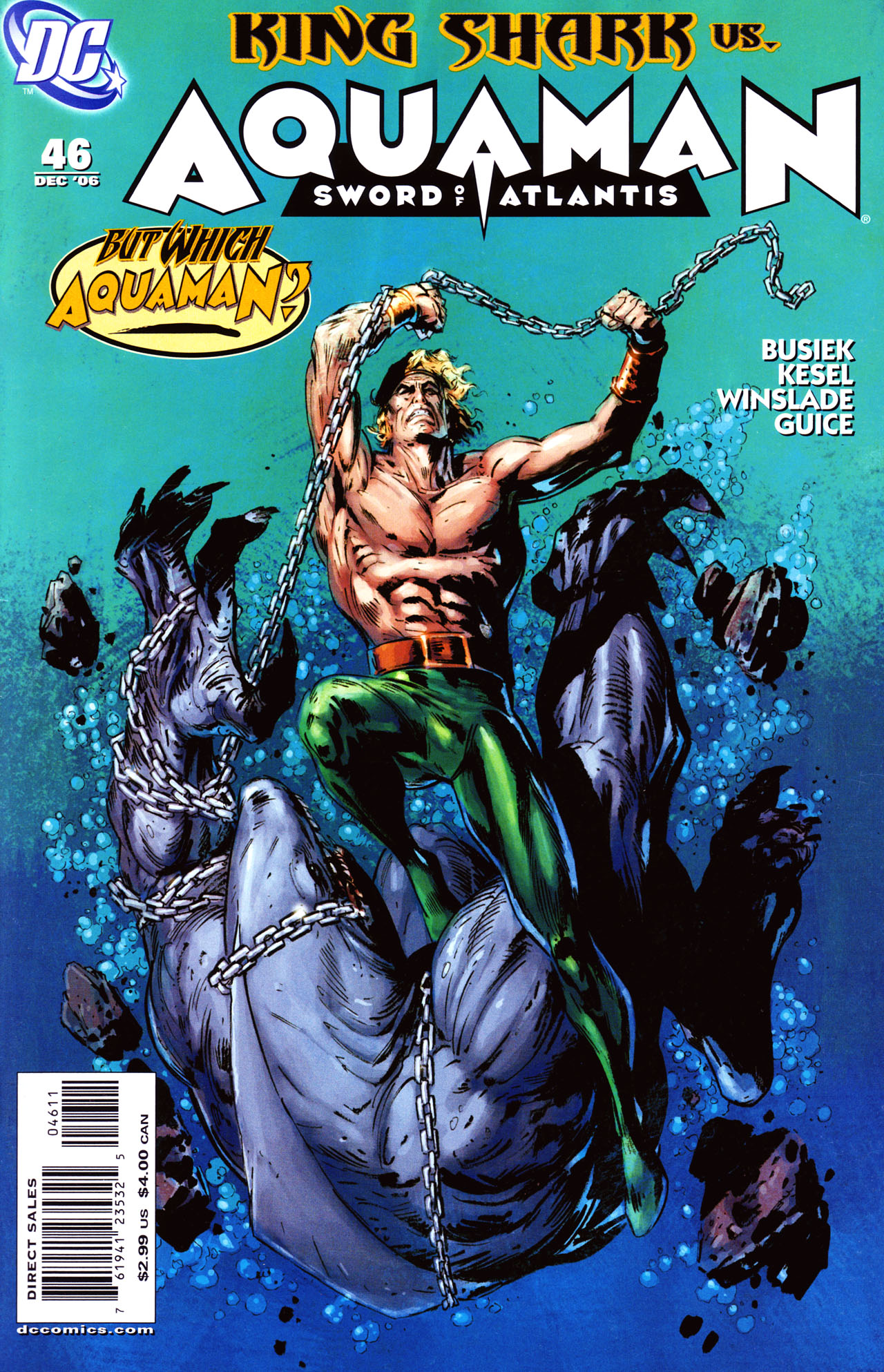 Aquaman: Sword of Atlantis 46 Page 1