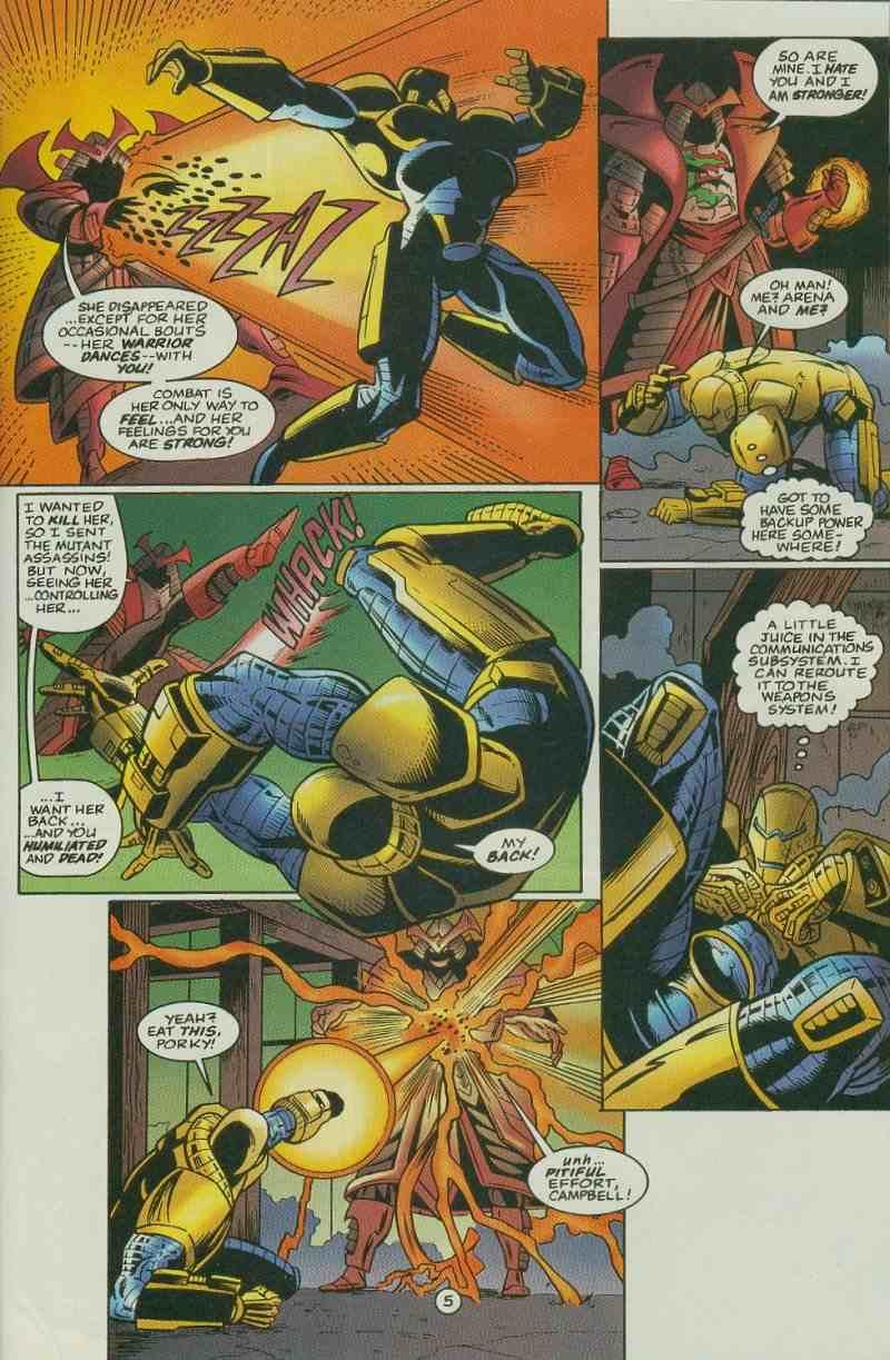 Read online Ultraverse Premiere comic -  Issue #11 - 33