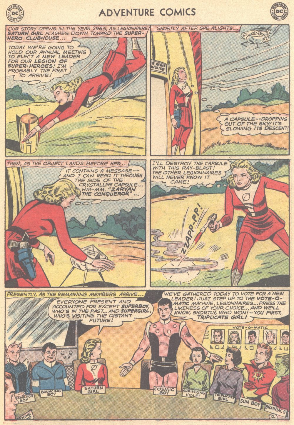 Read online Adventure Comics (1938) comic -  Issue #304 - 22