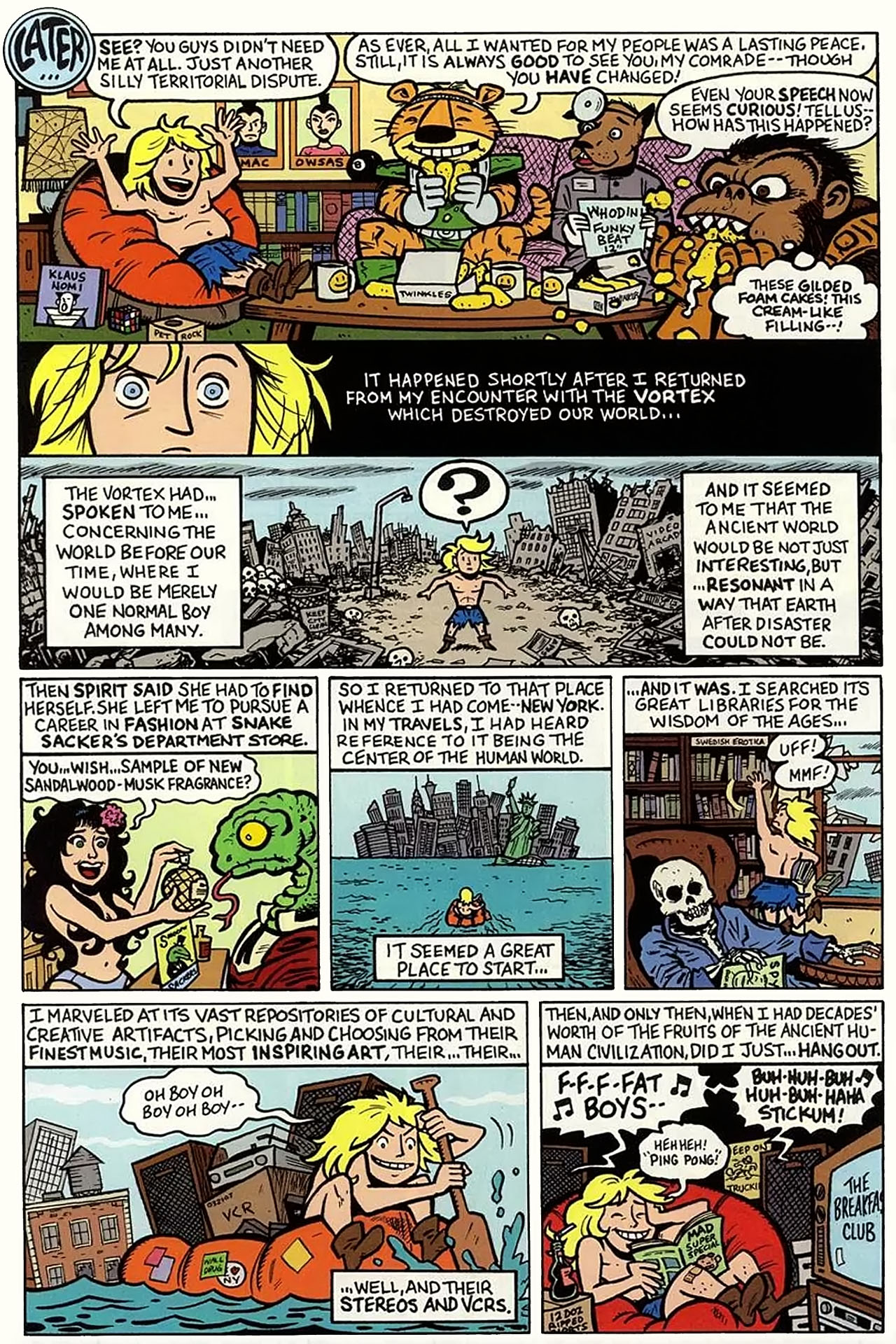 Read online Bizarro World comic -  Issue # TPB - 177