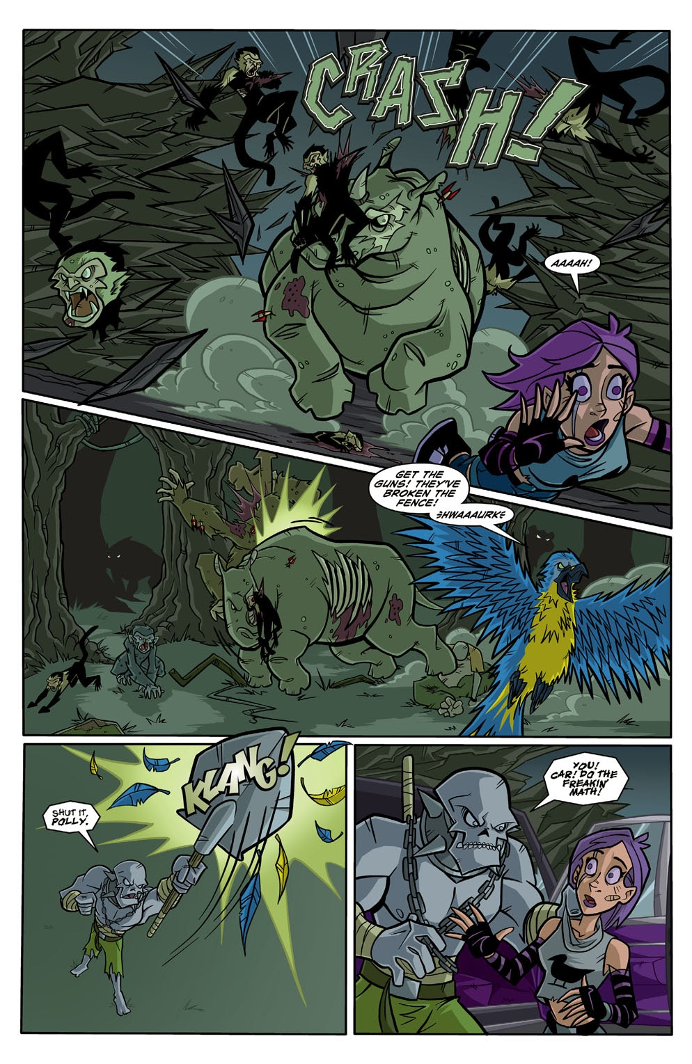 Read online Xombie Reanimated comic -  Issue #3 - 11