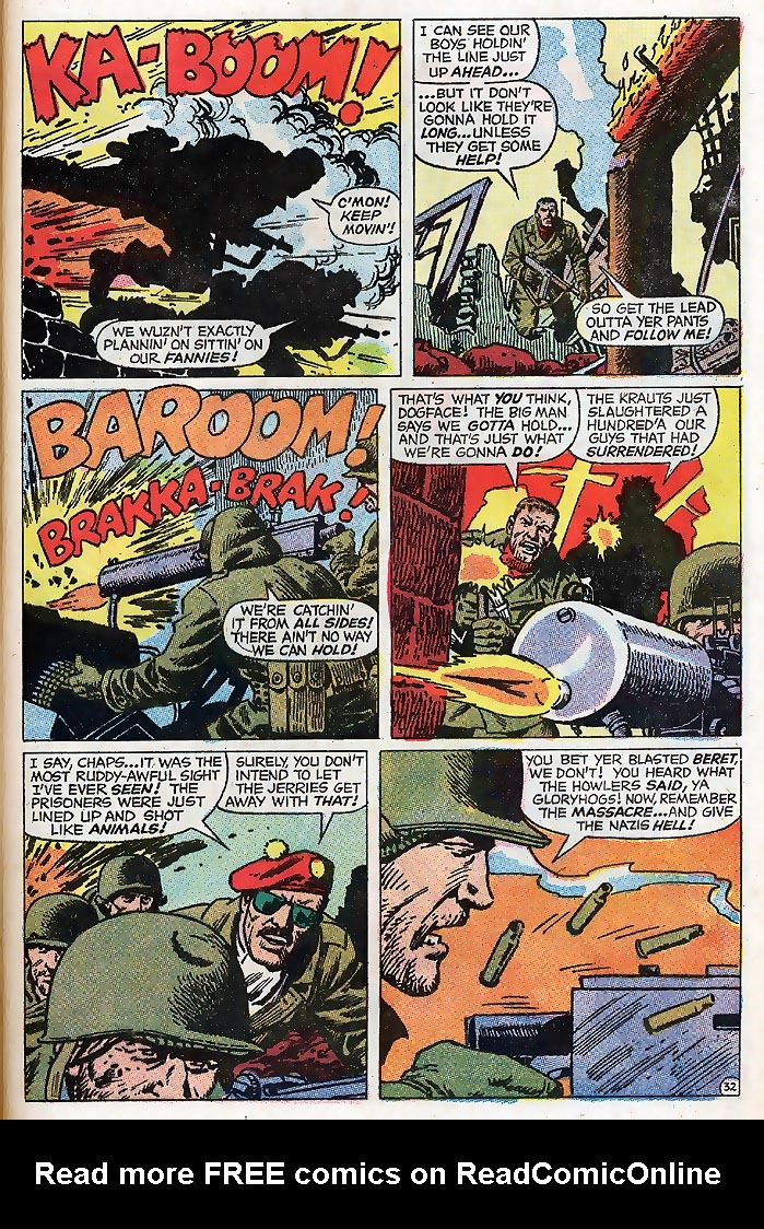 Read online Sgt. Fury comic -  Issue # _Special 4 - 39