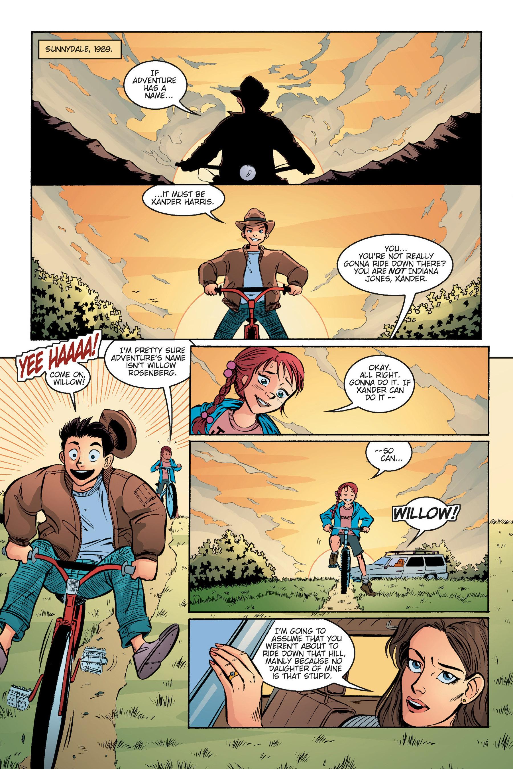 Read online Buffy the Vampire Slayer: Omnibus comic -  Issue # TPB 5 - 125