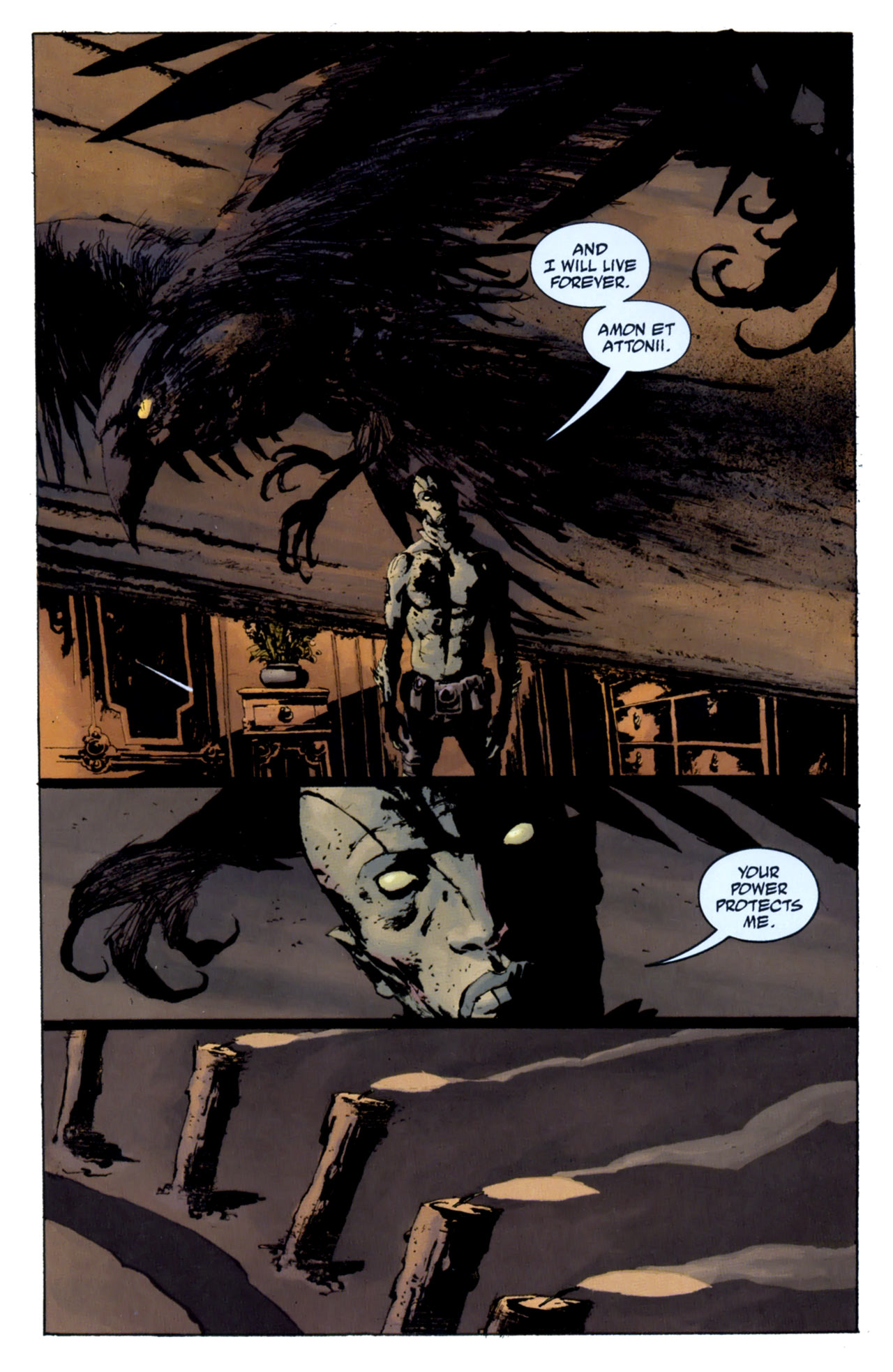 Read online Abe Sapien: The Drowning comic -  Issue #4 - 5