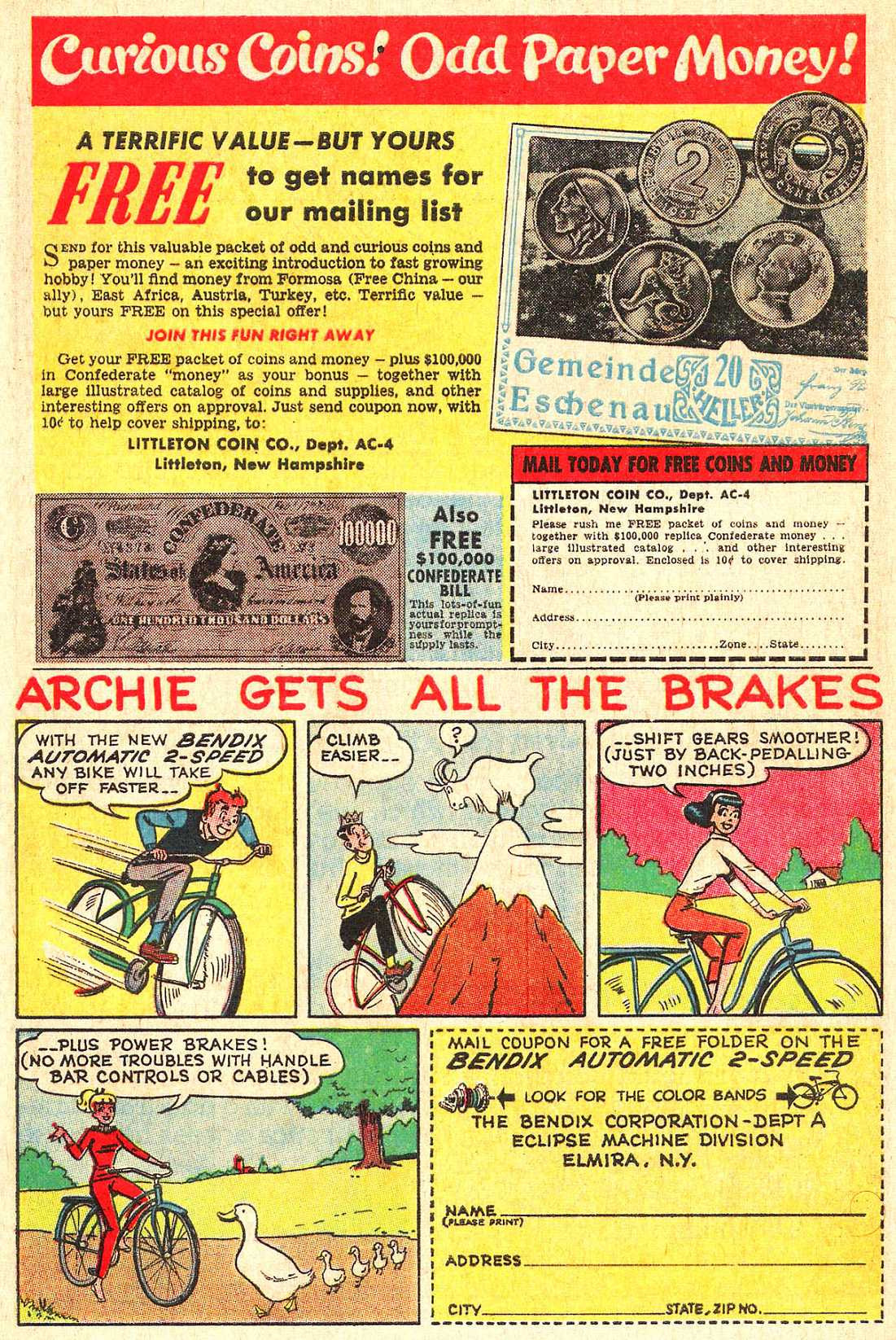 Read online Archie (1960) comic -  Issue #154 - 25