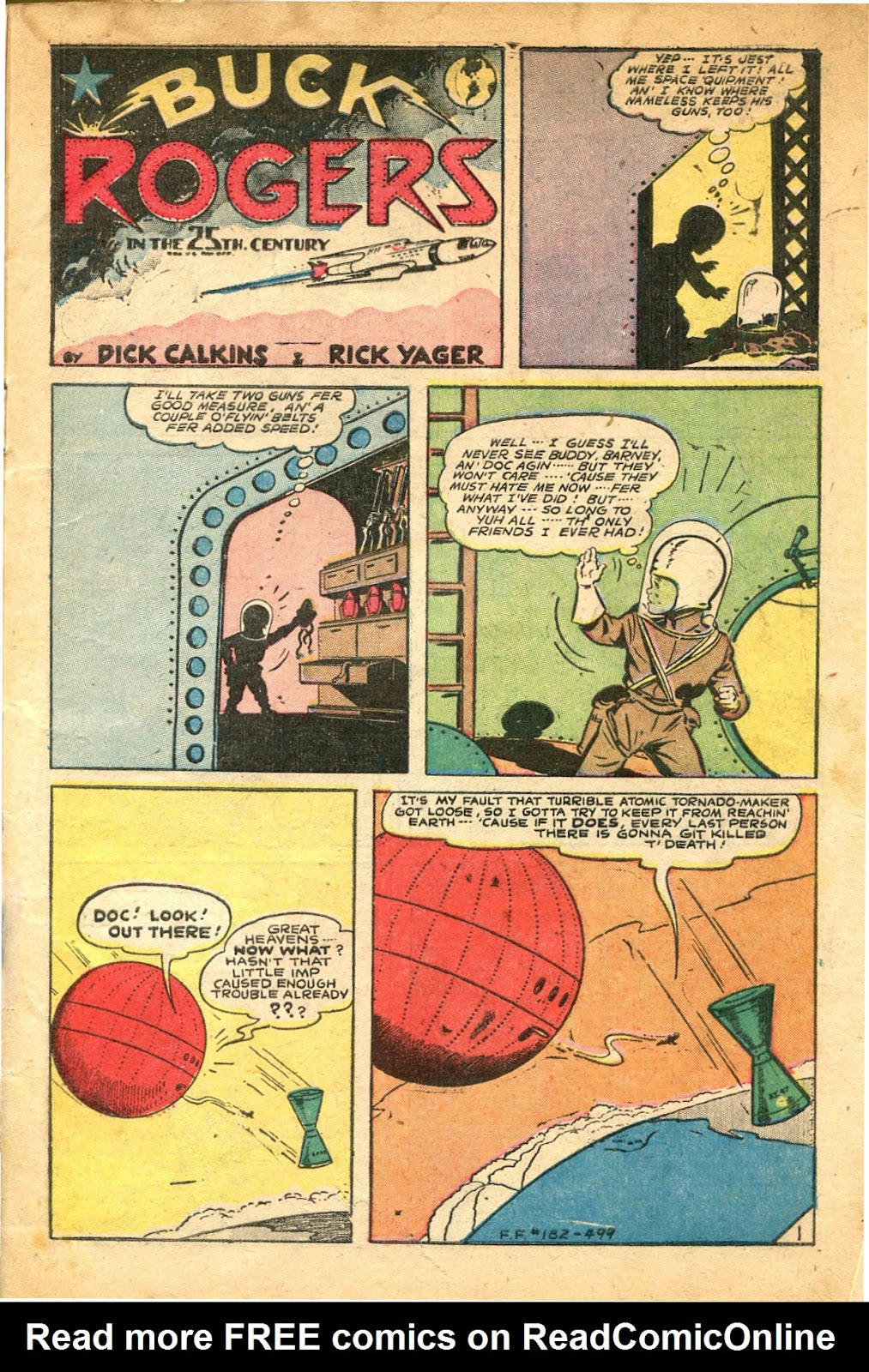 Read online Famous Funnies comic -  Issue #182 - 3