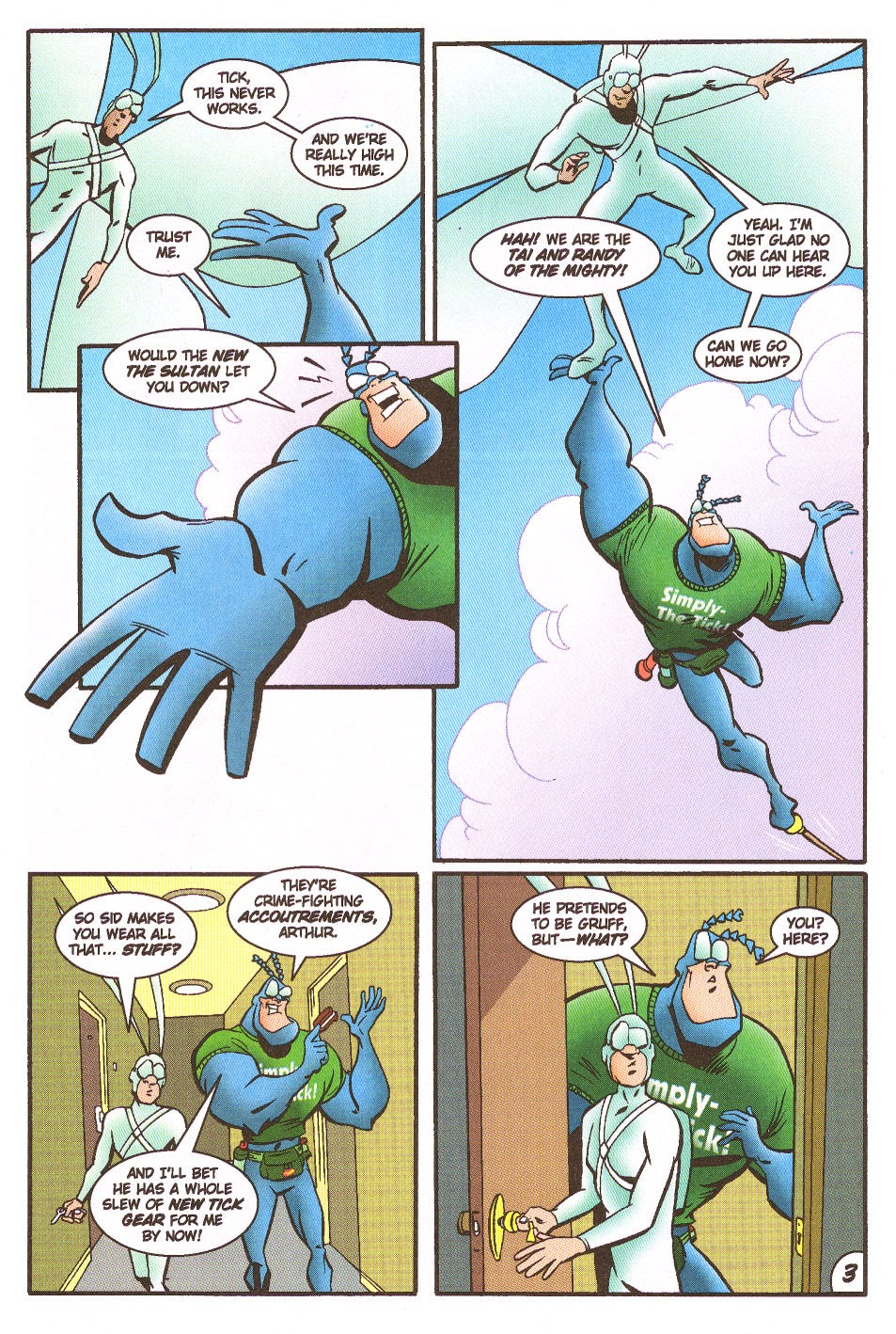 Read online The Tick: Days of Drama comic -  Issue #5 - 5