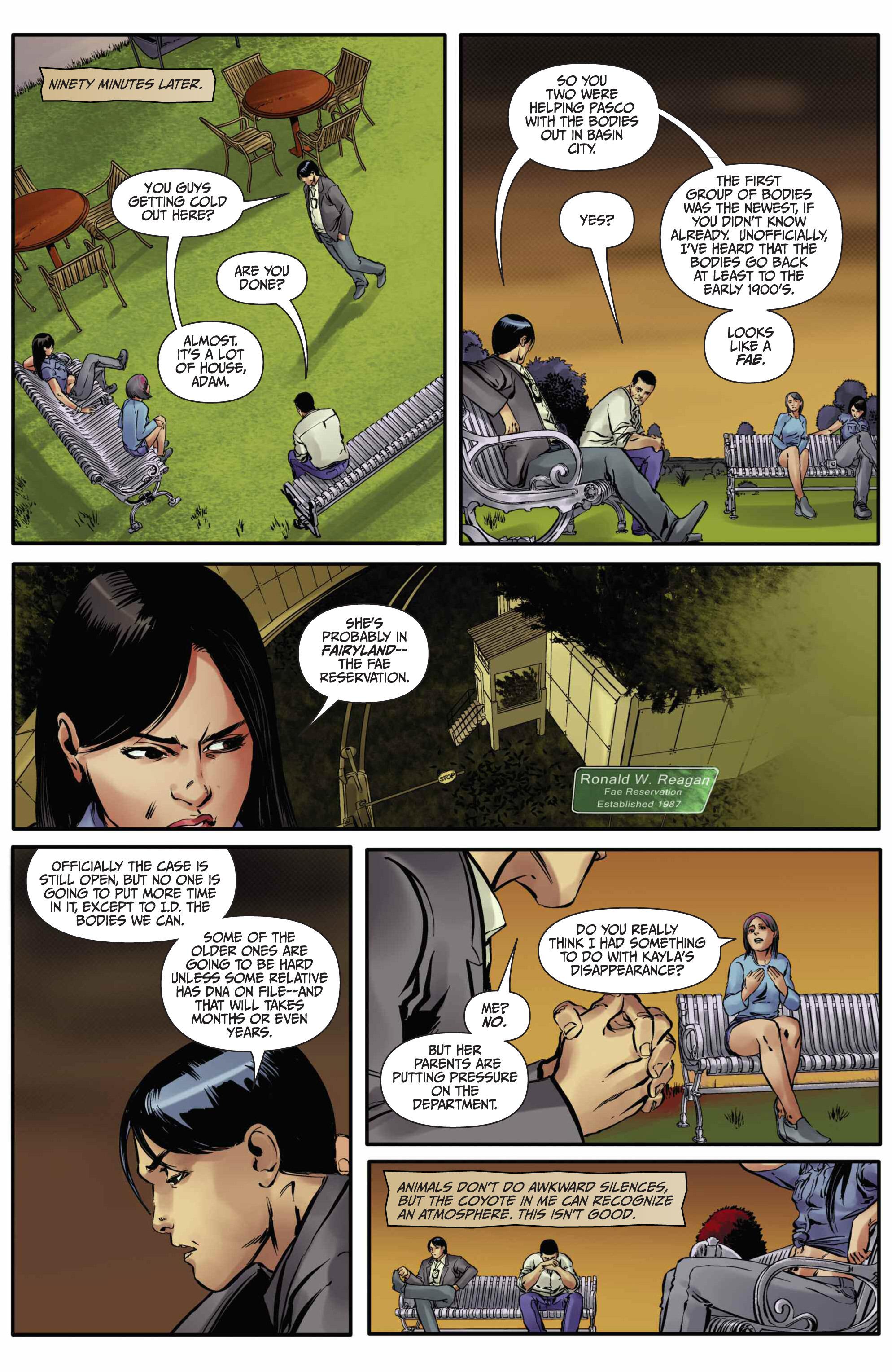 Read online Mercy Thompson comic -  Issue #5 - 7