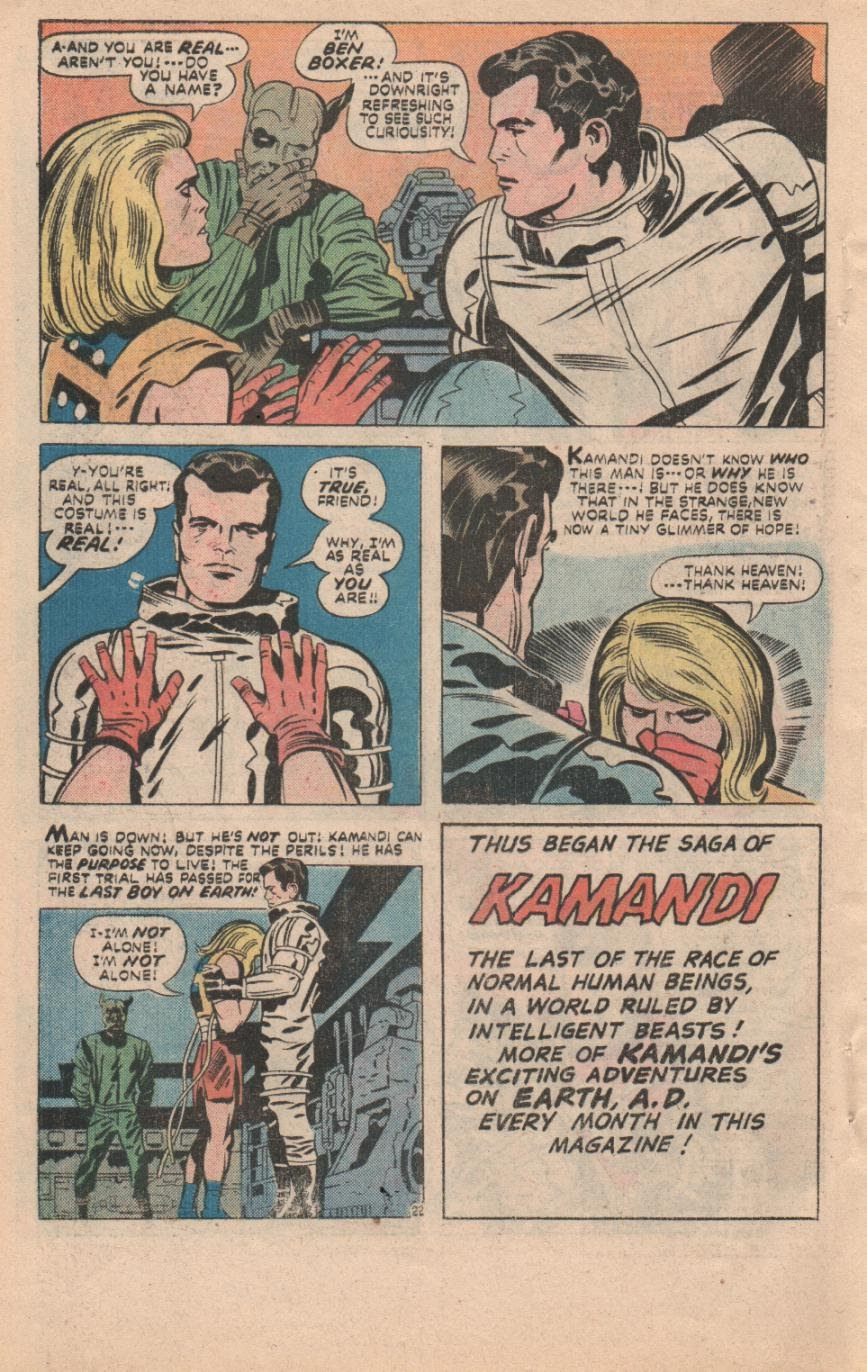 Kamandi, The Last Boy On Earth issue 32 - Page 53