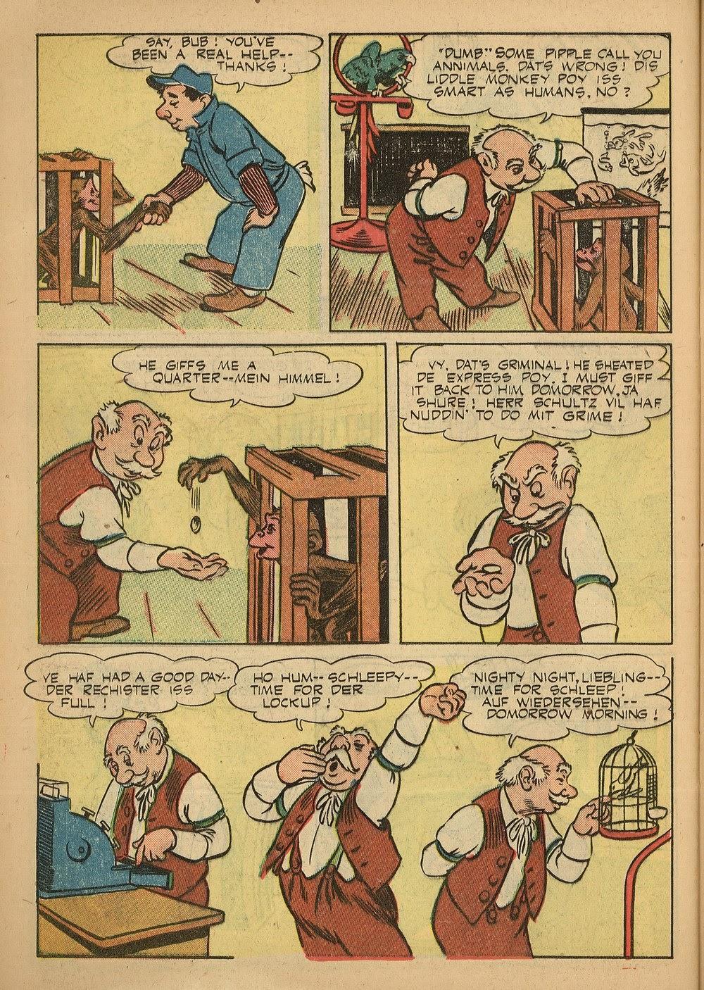Read online Animal Comics comic -  Issue #24 - 42
