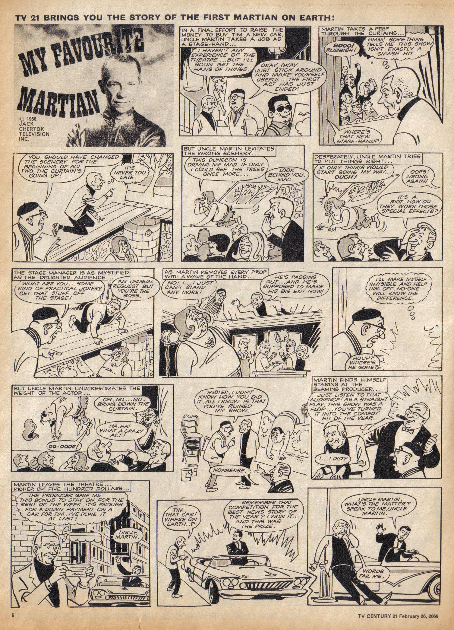 Read online TV Century 21 (TV 21) comic -  Issue #58 - 6