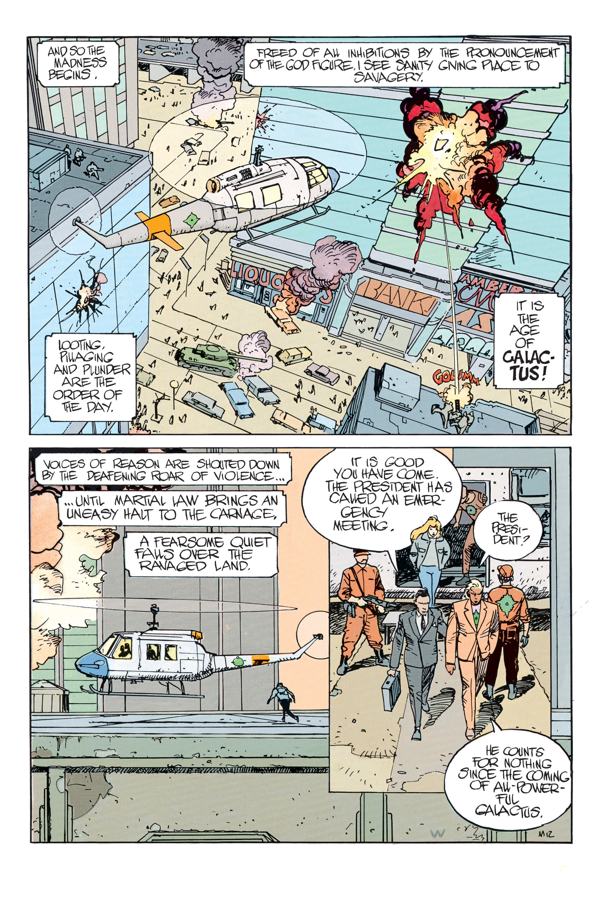 Read online Silver Surfer: Parable comic -  Issue # TPB - 17