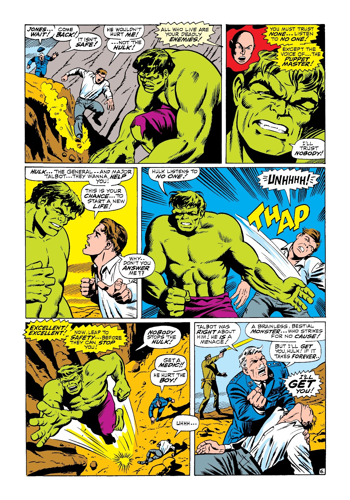 Read online Marvel Masterworks: The Incredible Hulk comic -  Issue # TPB 3 (Part 3) - 34