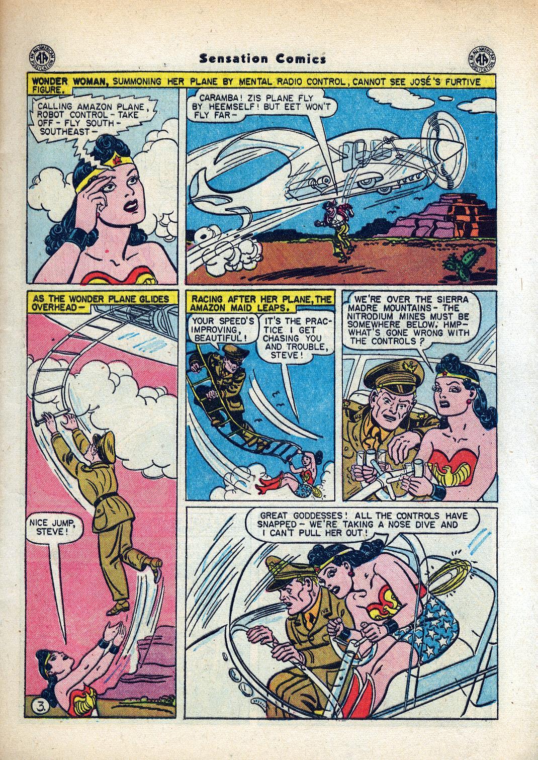 Read online Sensation (Mystery) Comics comic -  Issue #45 - 5