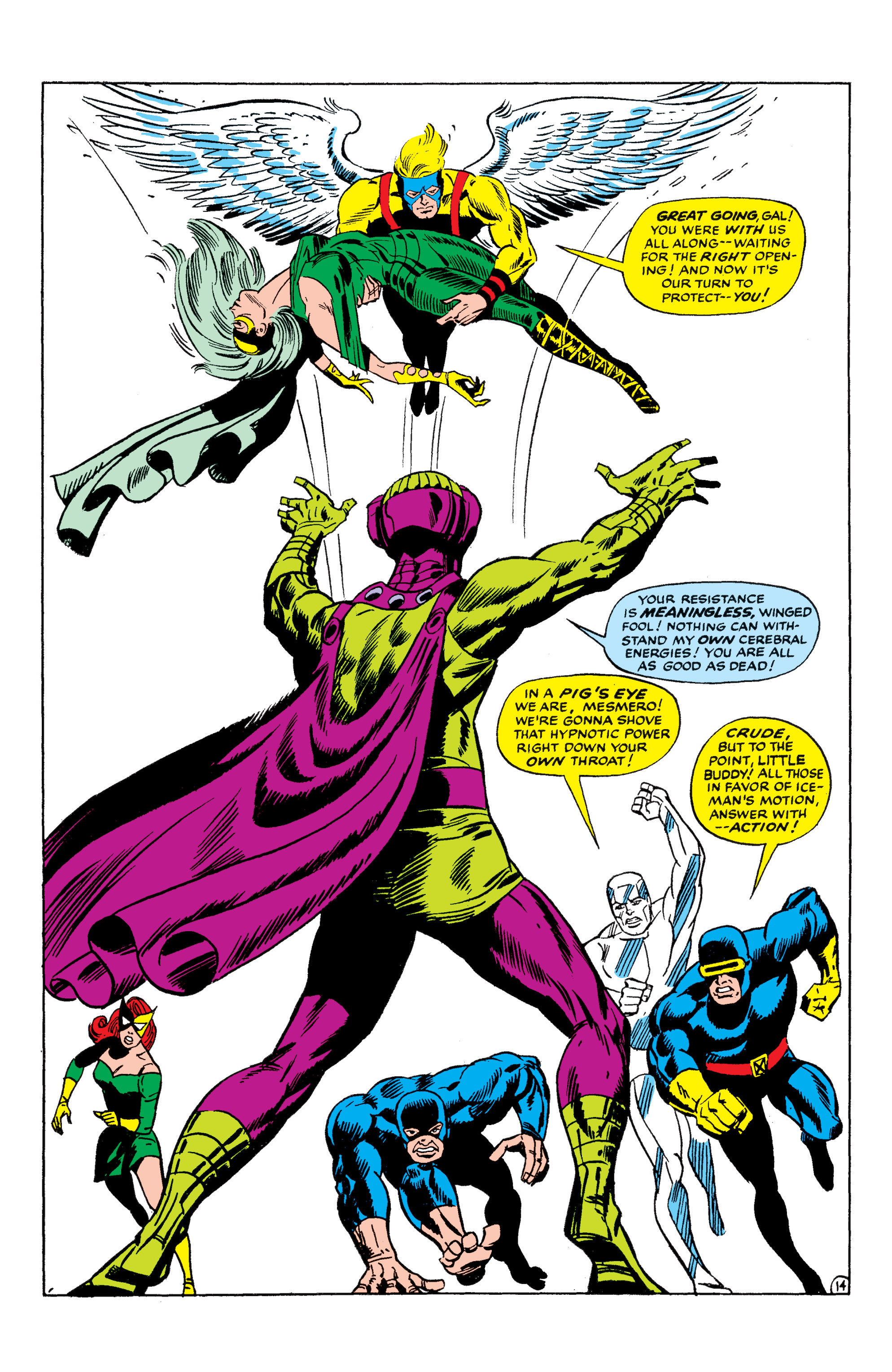 Read online Uncanny X-Men (1963) comic -  Issue #50 - 14