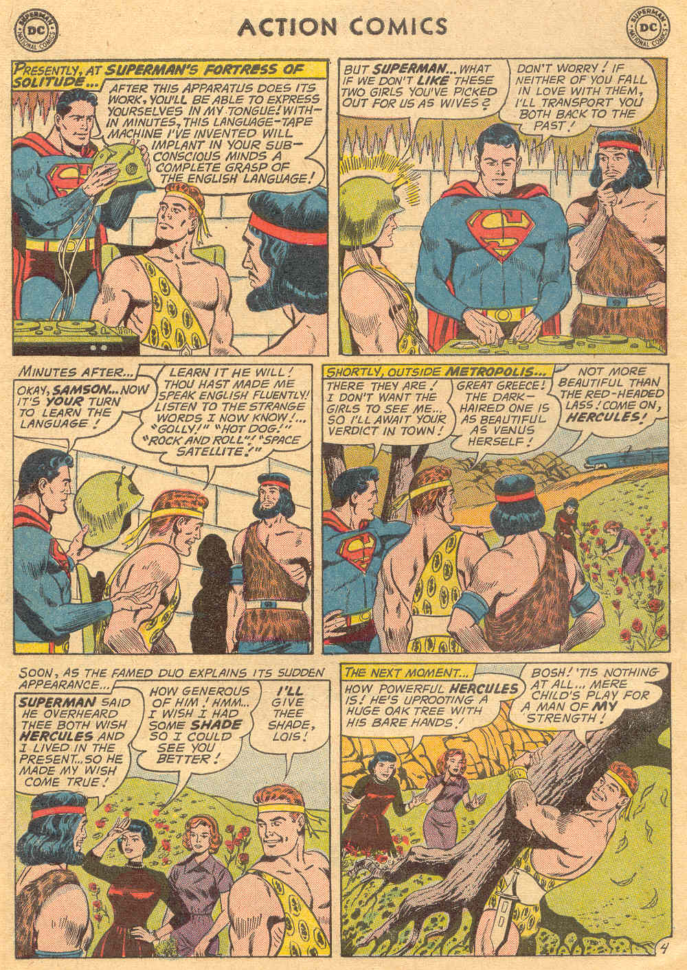 Read online Action Comics (1938) comic -  Issue #279 - 6
