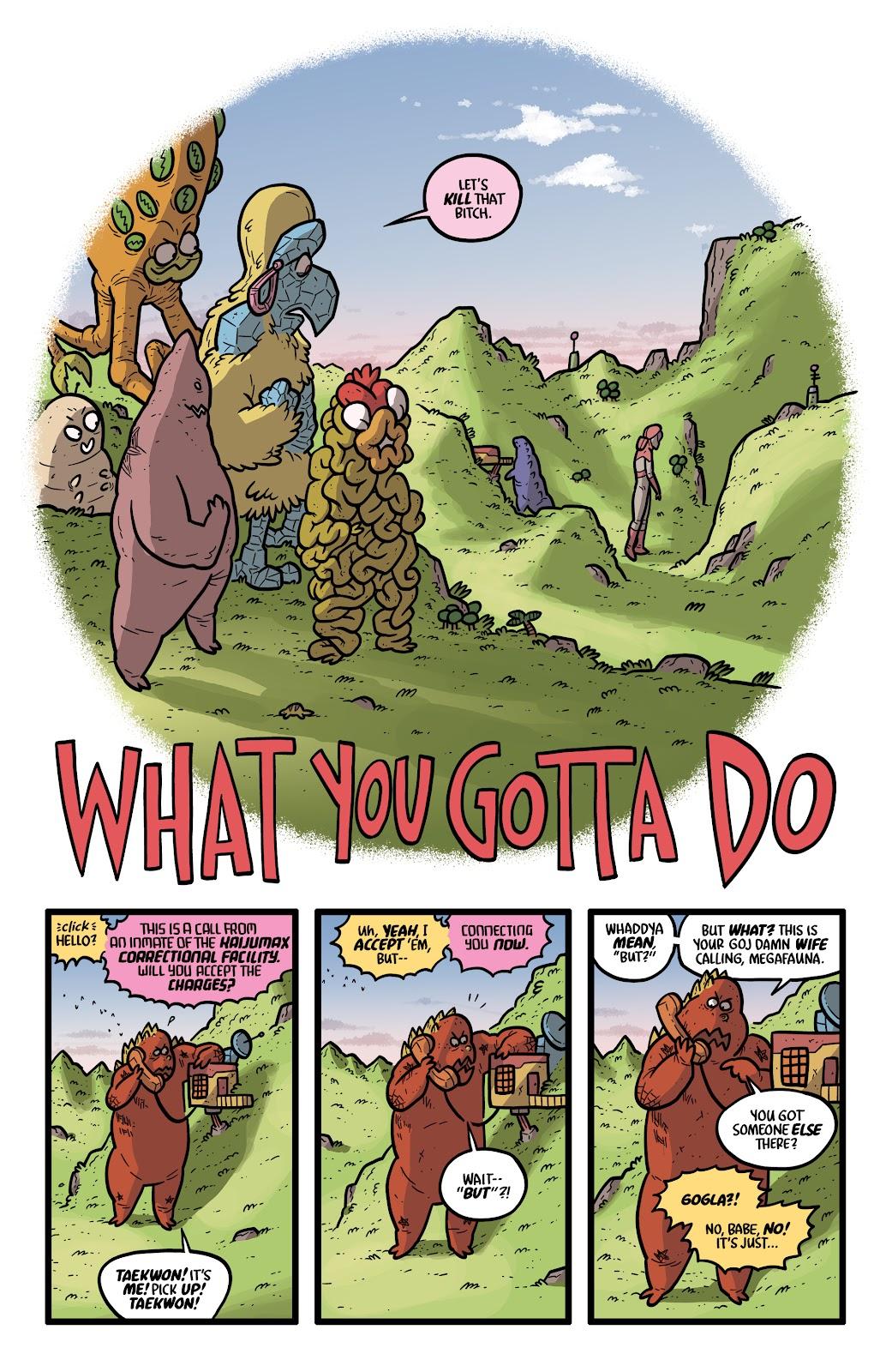 Read online Kaijumax: Season Four comic -  Issue #4 - 6