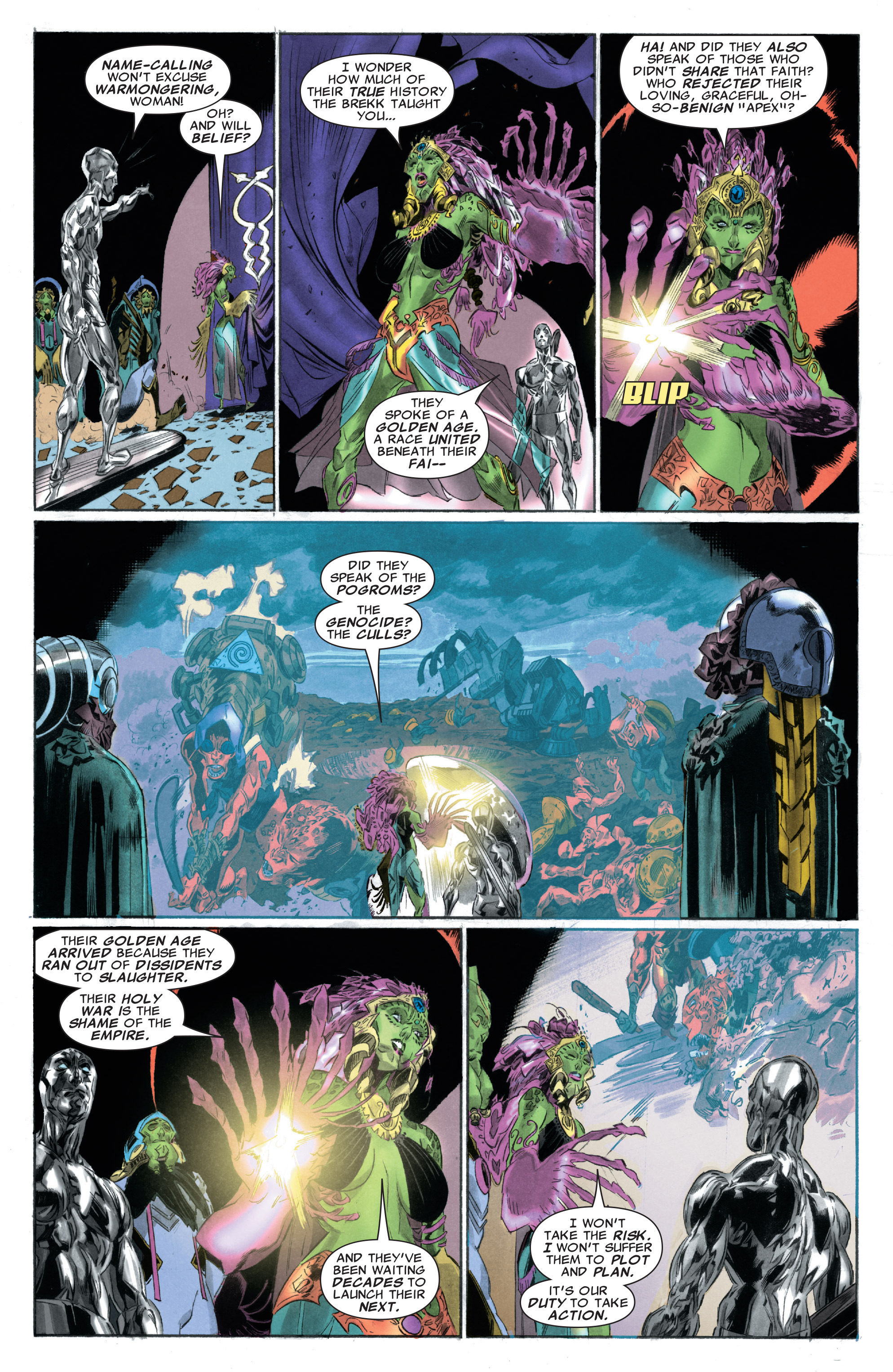 Read online Silver Surfer: In Thy Name comic -  Issue #3 - 18
