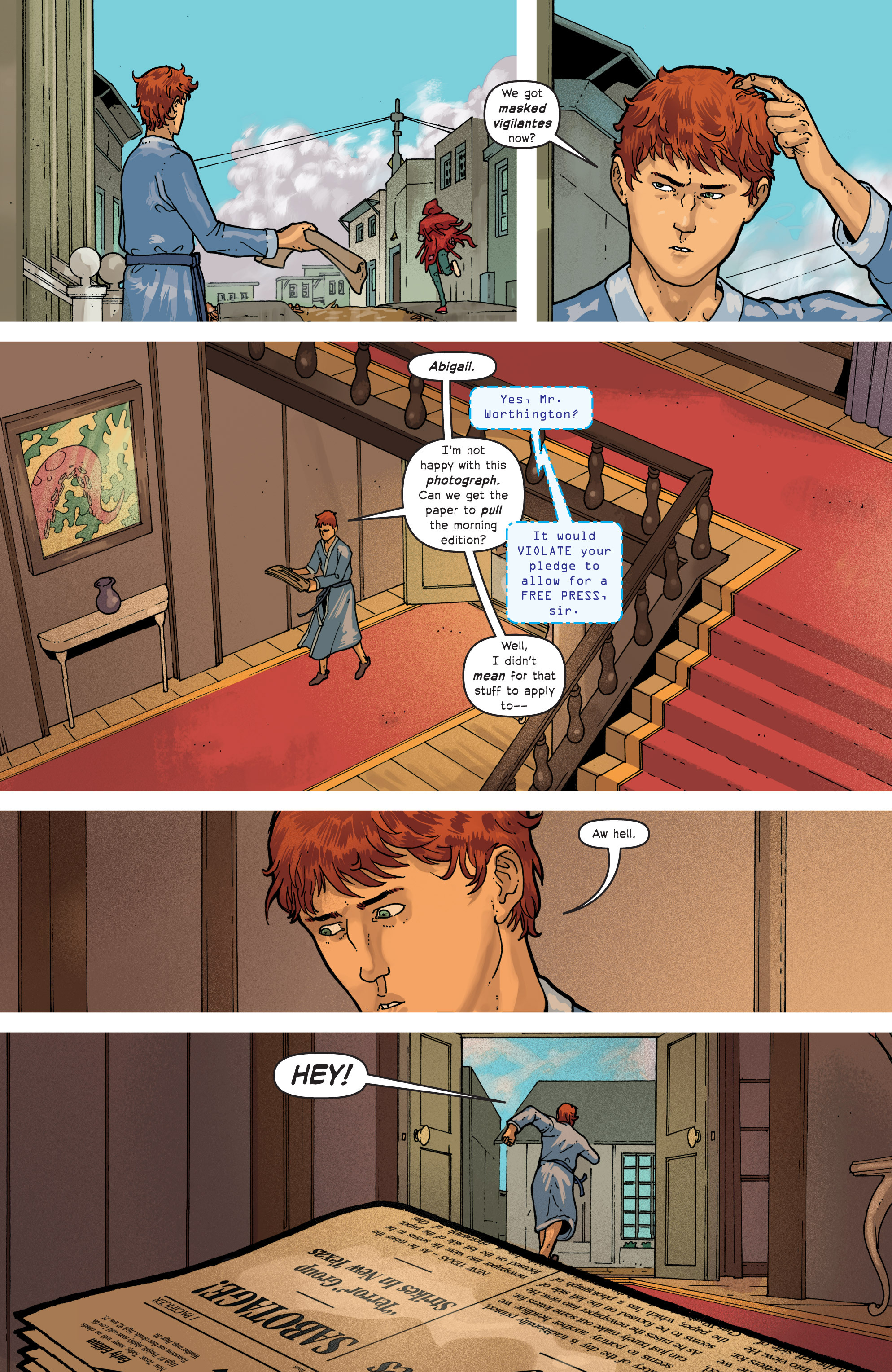 Read online Great Pacific comic -  Issue #7 - 8