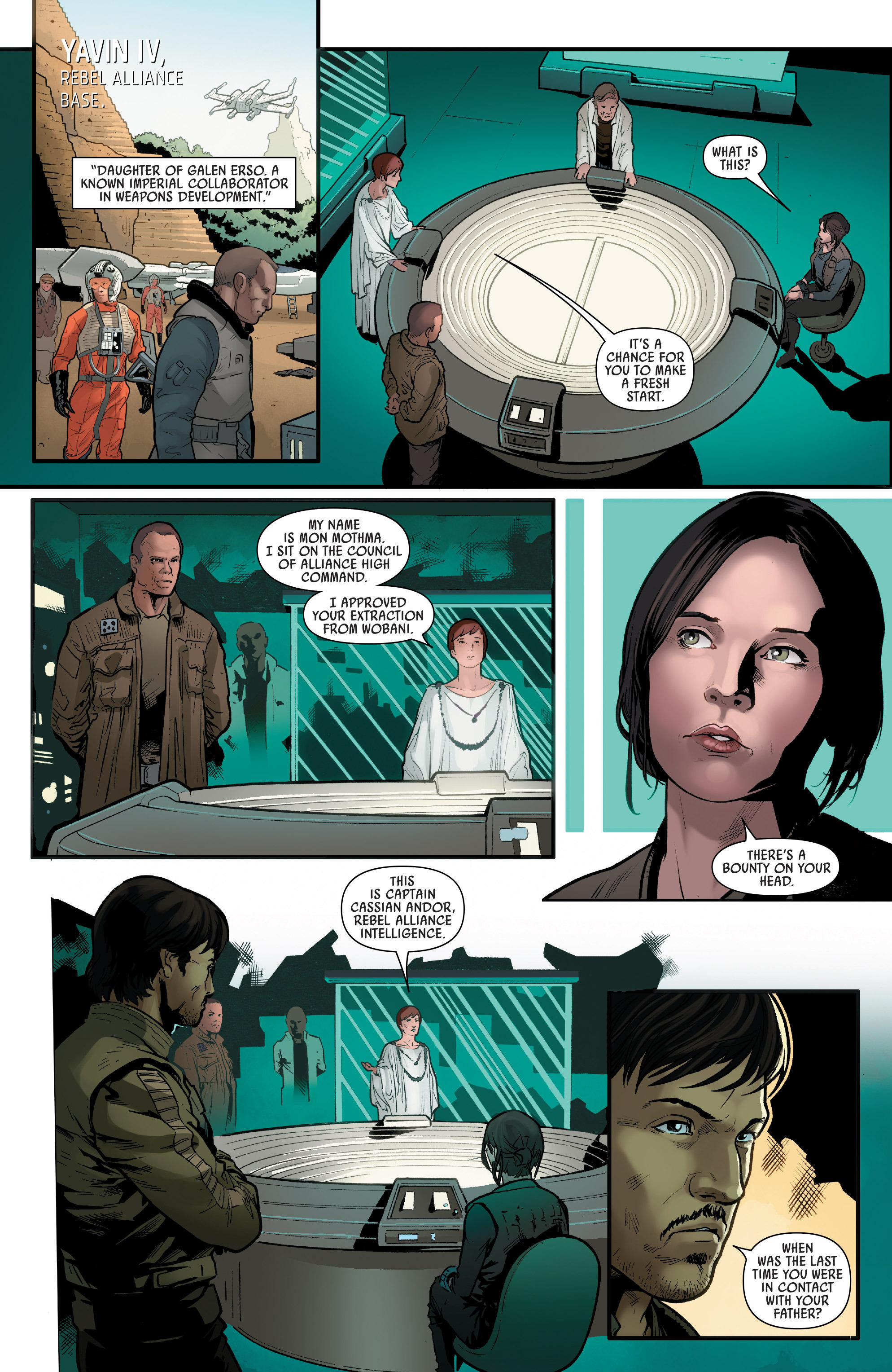 Read online Star Wars: Rogue One Adaptation comic -  Issue #1 - 21